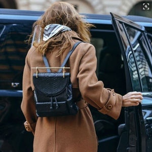 women backpack + best backpack 2018 + House of Comil + Fashion + Style + Blog + M2Malletier + Leather + Backpack + International designers