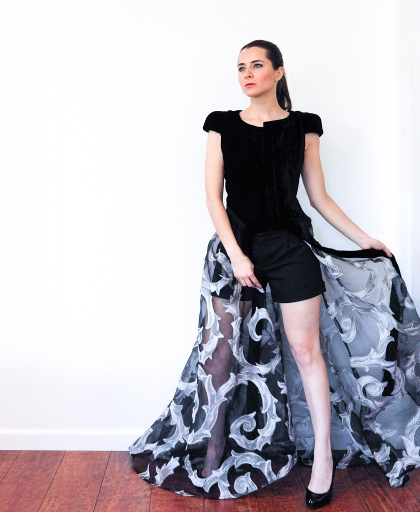 House of comil + new goth + House of Comil + Fashion + Style + Blog + dress coat + dress-coat + montaha couture