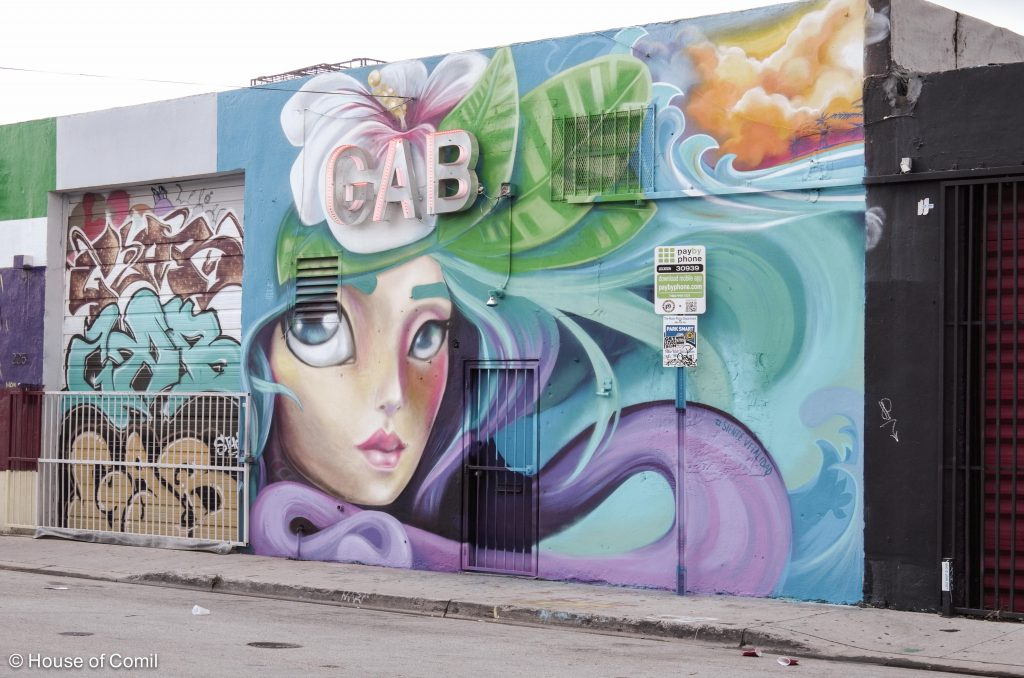 GAB Studio + mural + wall + walk + Art district + Miami + Wynwood + Art District + Street-art + Street + art + Los Angeles + Lablogger + style + blogger + fashion + inspiration + house of comil + lifestyle + houseofcomil + French + la blogger