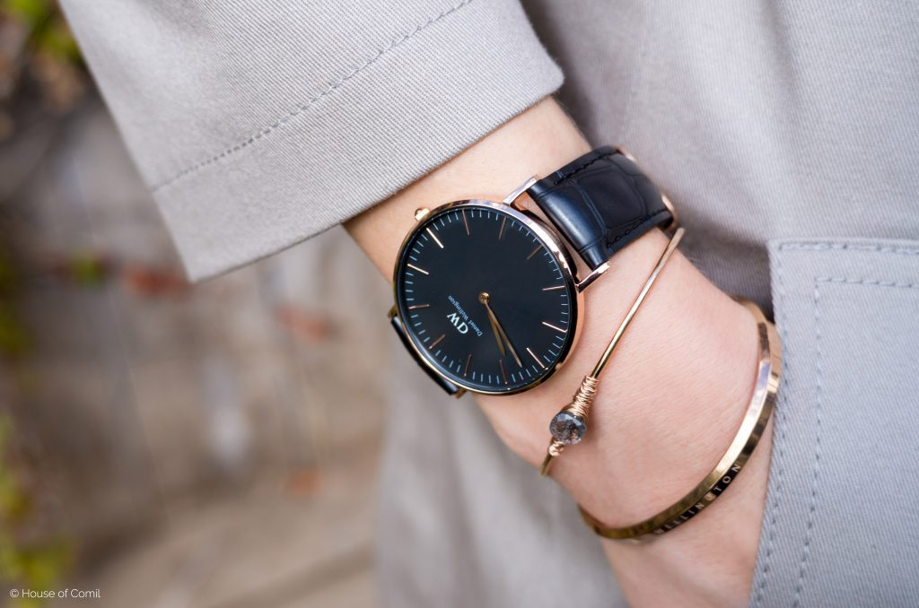 daniel wellington + coupon code + exclusive + discount + 15% + off + classic black + juliacomil + promo code