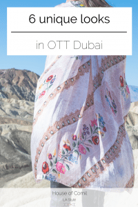 Discover OTT Dubai: a sophisticated, original and funky clothing label: in 6 editorial looks. Bomber, beaded bag, tunic, fringed kimono, romper & army jacket: OTT covers it all! Read it first on Houseofcomil.com or pin to save for later.