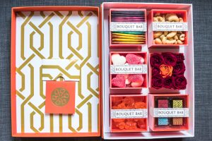 January New In: Sunday Riley, Bouquet Bar, DP Hue, Nuxe. Orange is the new gold on Houseofcomil.com. Click to read more about or pin to save for later.