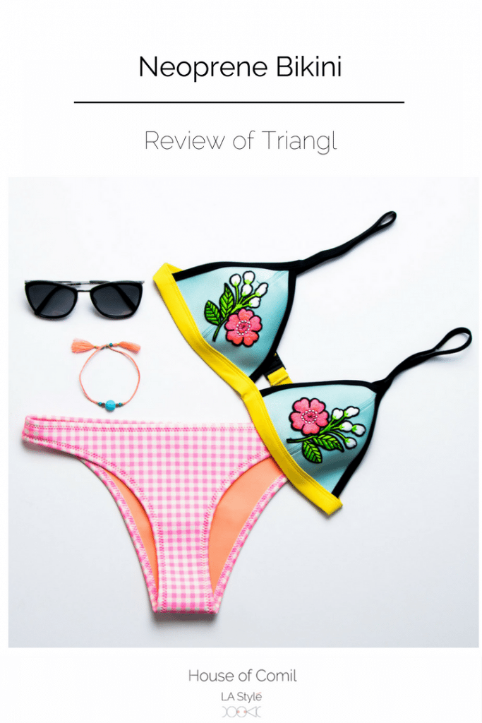 Review of the neoprene bikini from Triangl. Click to discover to read more about this amazing swimsuit or pin to save for later.
