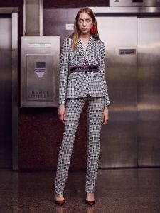 spring + style + altuzarra resort + gingham + vichy + office + outfit + work + suit