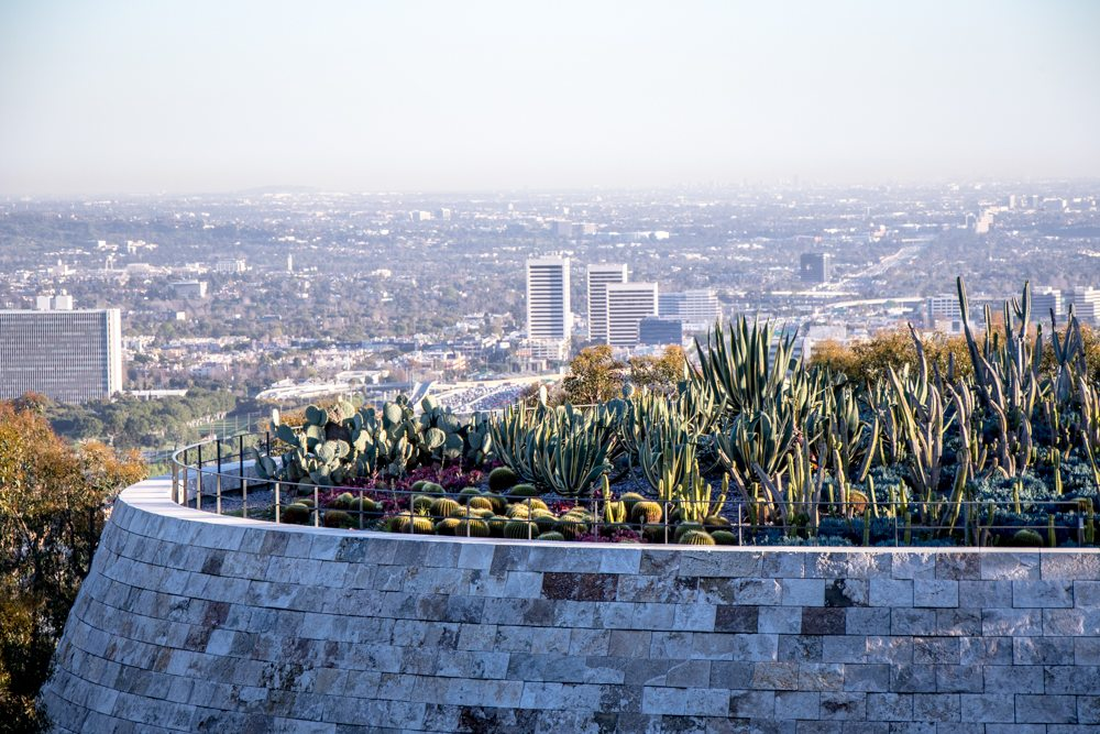 getty center + los angeles + style blogger