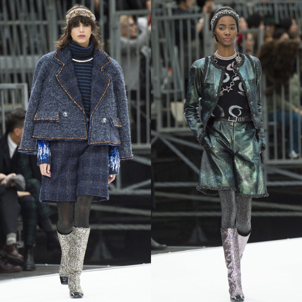 Chanel Bermuda Trend RTW Fall 2017fashion week coverage runway fall winter 2017 2018 trends trend