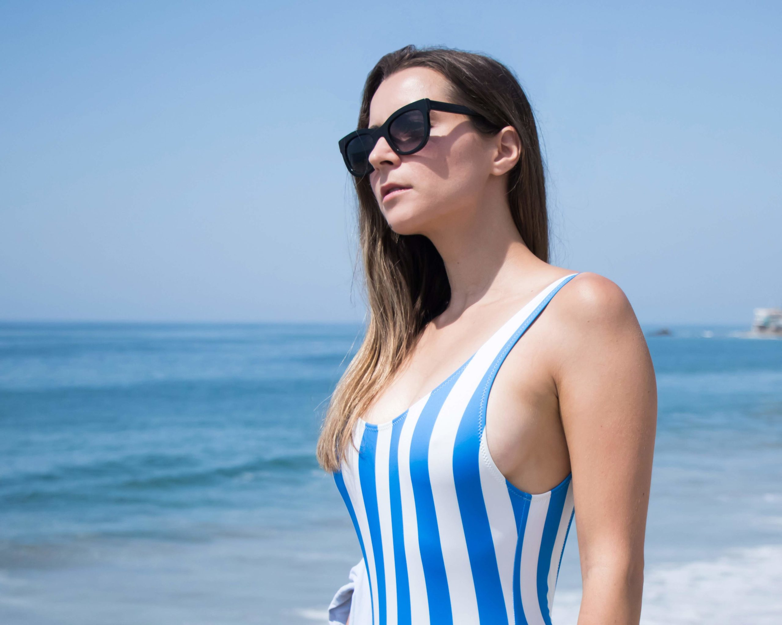 Solid and Striped - Anne-Marie Swimsuit - August Edit: Summer Swimsuit and Bodysuit to show your best back! More on Modersvp.com