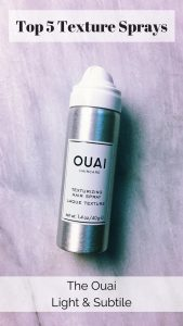 the ouai: Top 5 texture sprays