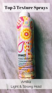 Top 5 texture spray: Amika