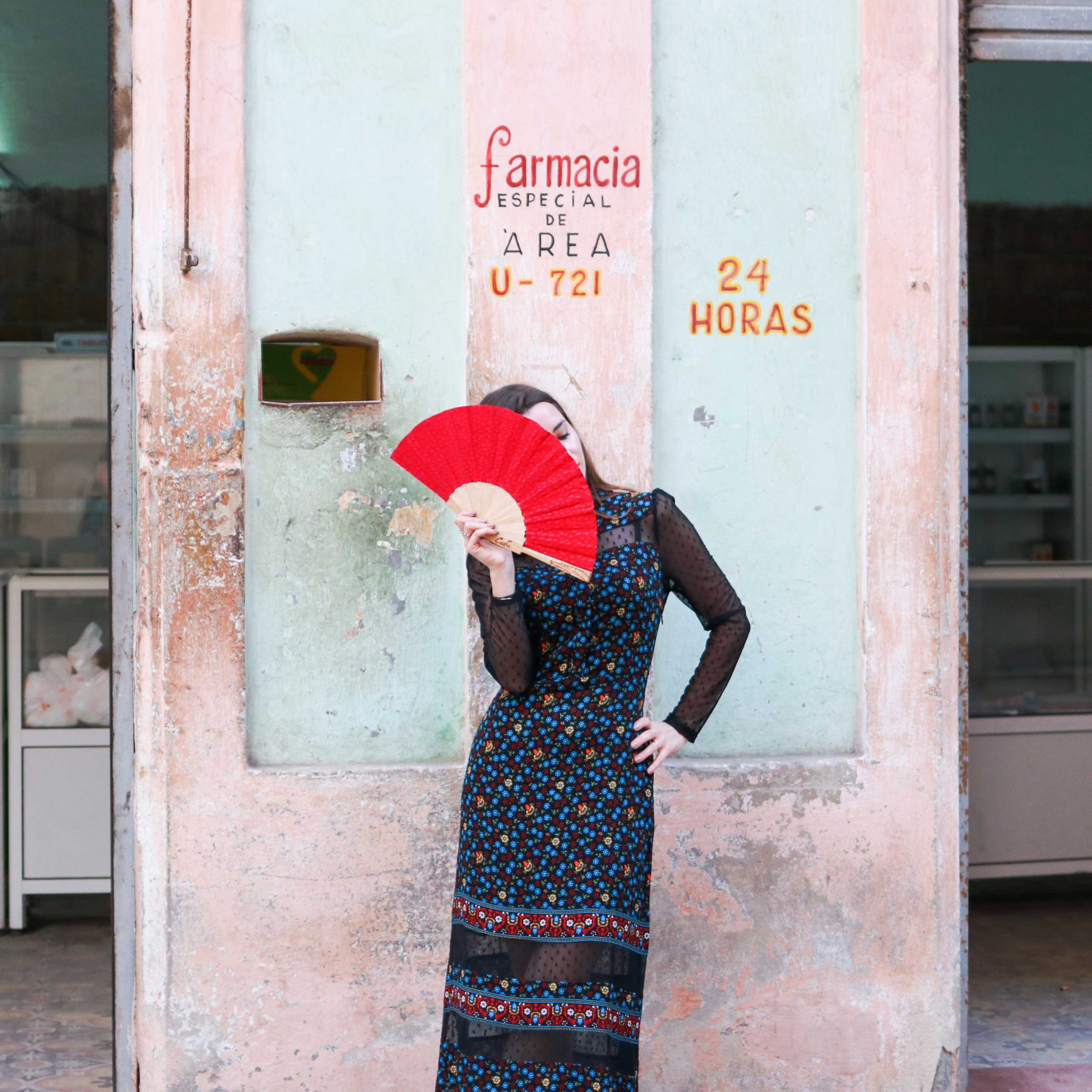 Cuba Fashion Diaries: The Winter dress from Maje Paris. Rezia: A long dress perfect for the petite silhouette. By French fashion blogger. Inspirations and more on Houseofcomil.com