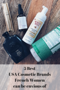 Burt's Bees, Tarte Cosmetics, Oribe, Josie Maran, Dr Bronner's Castille Organic Soap - 5 best USA cosmetic brands: French girls can be envious about! Discover the clean beauty brands loved by the French blogger Julia Comil