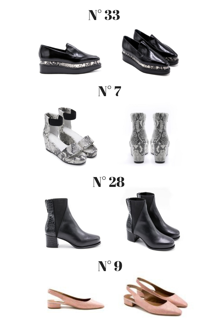 Seven All Around stylish and comfortable shoes - New York Label - N33 Platform Loafers - Slip-on - N7 Platform Sandals - N28 Embossed Ankle Boots - Seven All Around Review of this NY Label