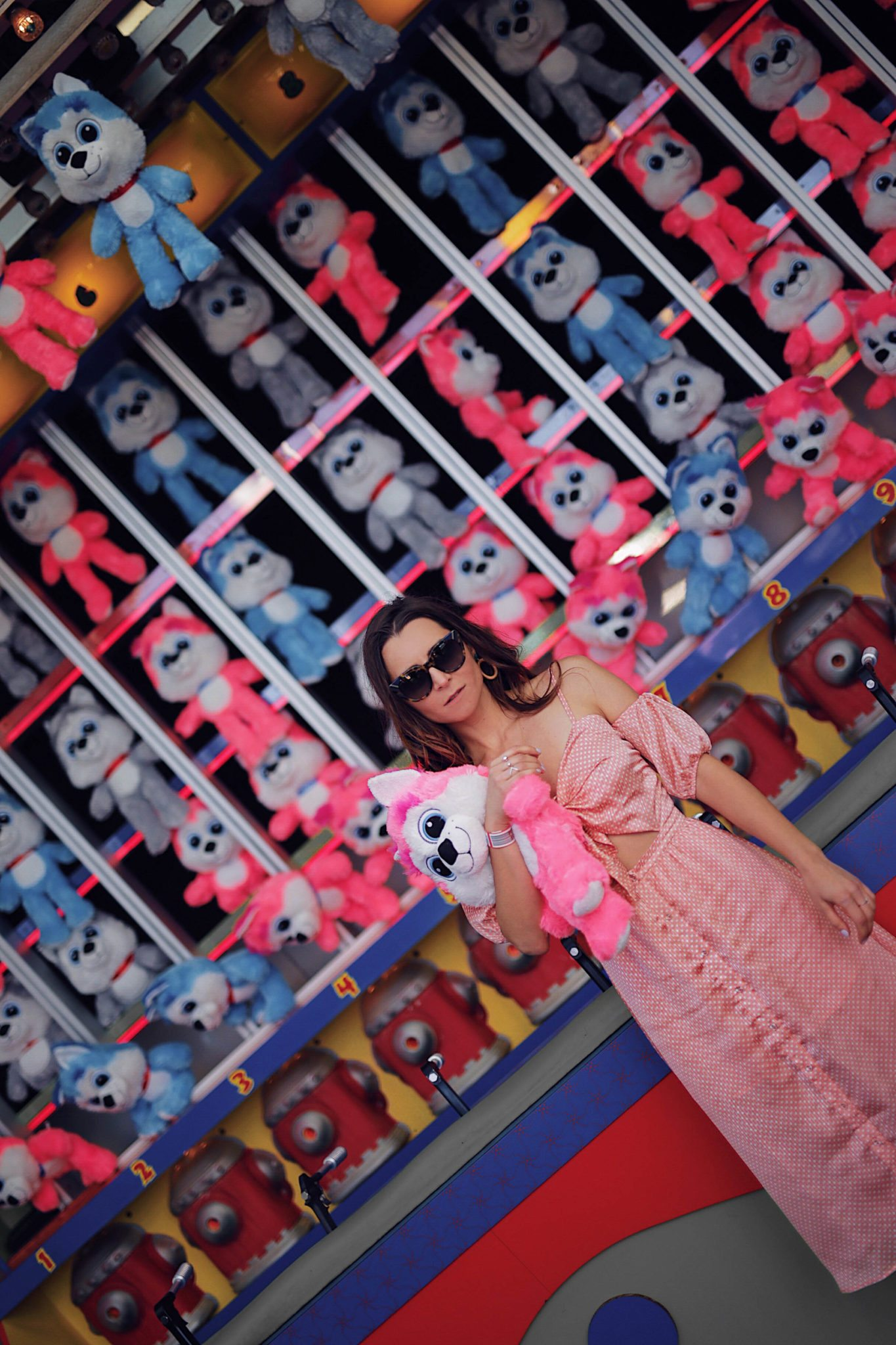 Fashion Diaries: Revolve Around The World Parties in Los Angeles - Tularosa Arlene Polka Dots dress worn by Fashion Blogger Julia Comil. More on Houseofcomil.com. Pin to read it later. Location Revolve Carnival at Santa Monica Pier