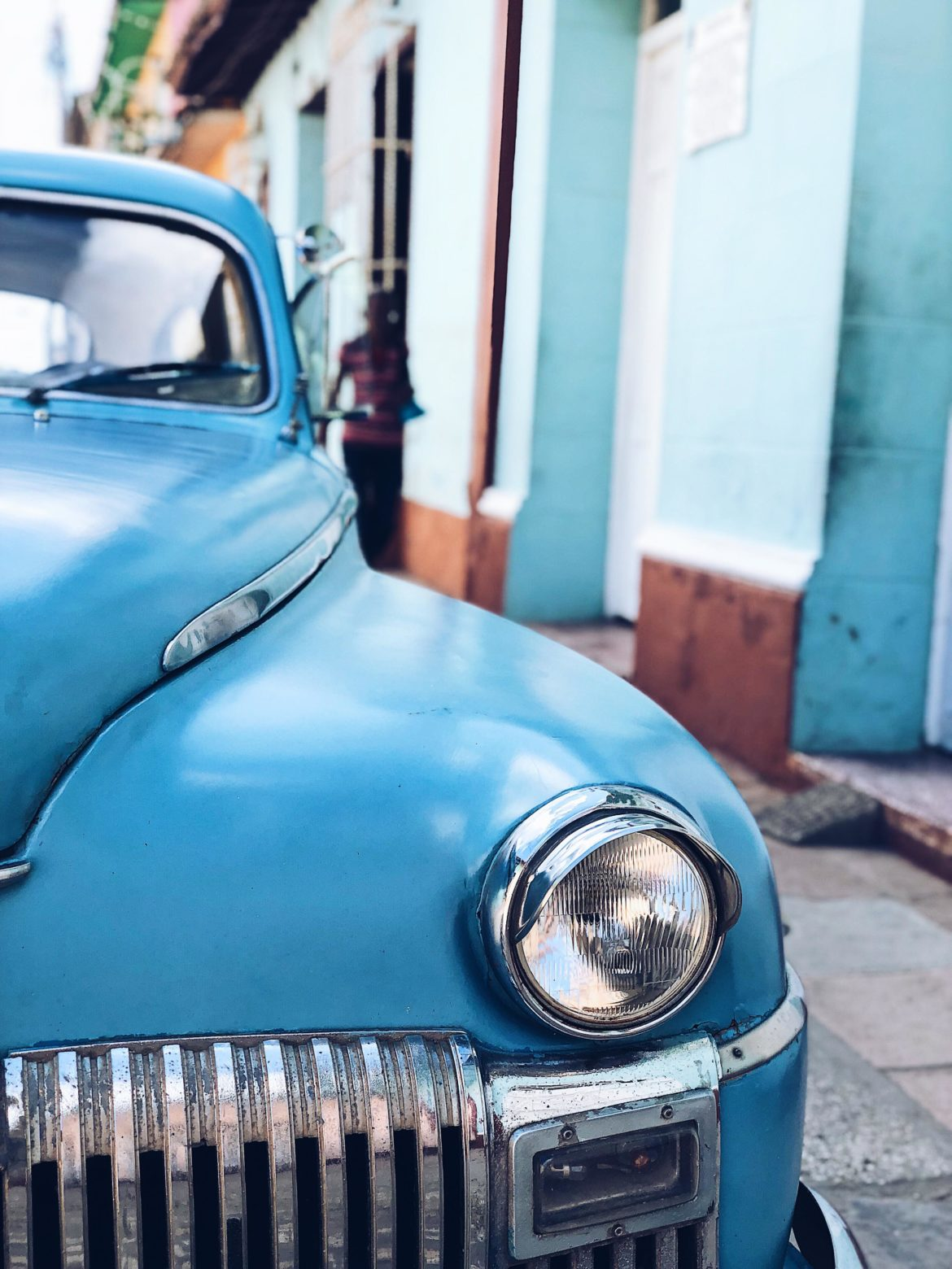 Old Car in Trinidad - Best things to do in Cuba