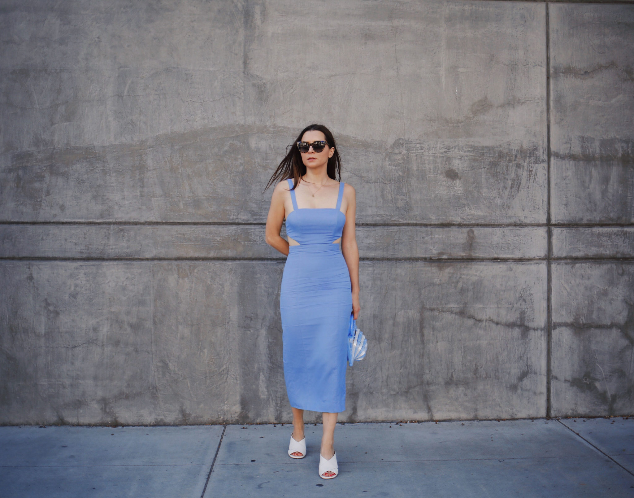 Fame and Partners Linen Dress - Summer dresses under $200 - Retro dresses on Houseofcomil.com