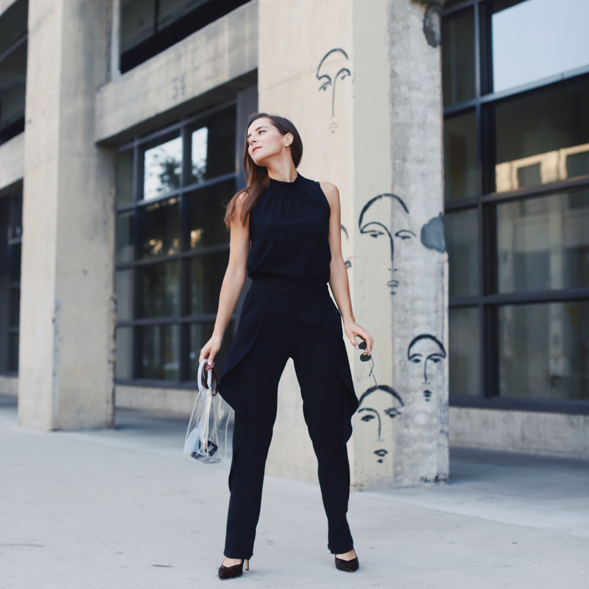 3a71cfec8a1 The black jumpsuit a fall transitional outfit you can never jpg 2048x2048 Black  jumpsuit outfit