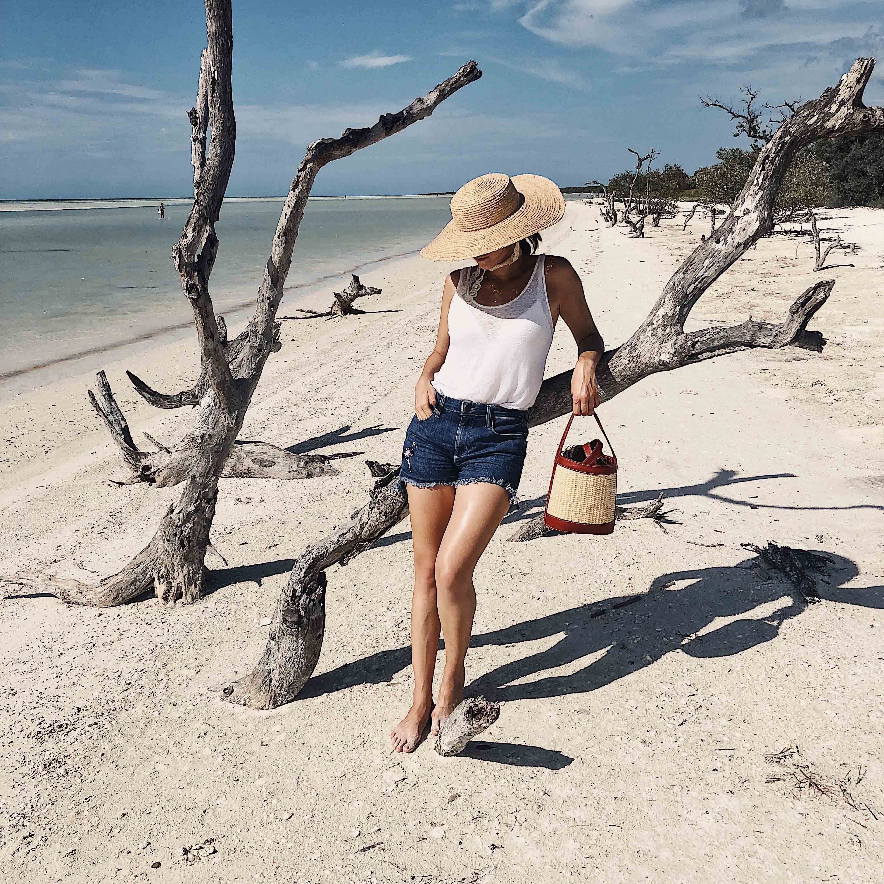 Holbox Beach Hat W Concept Bag Studio Sarta