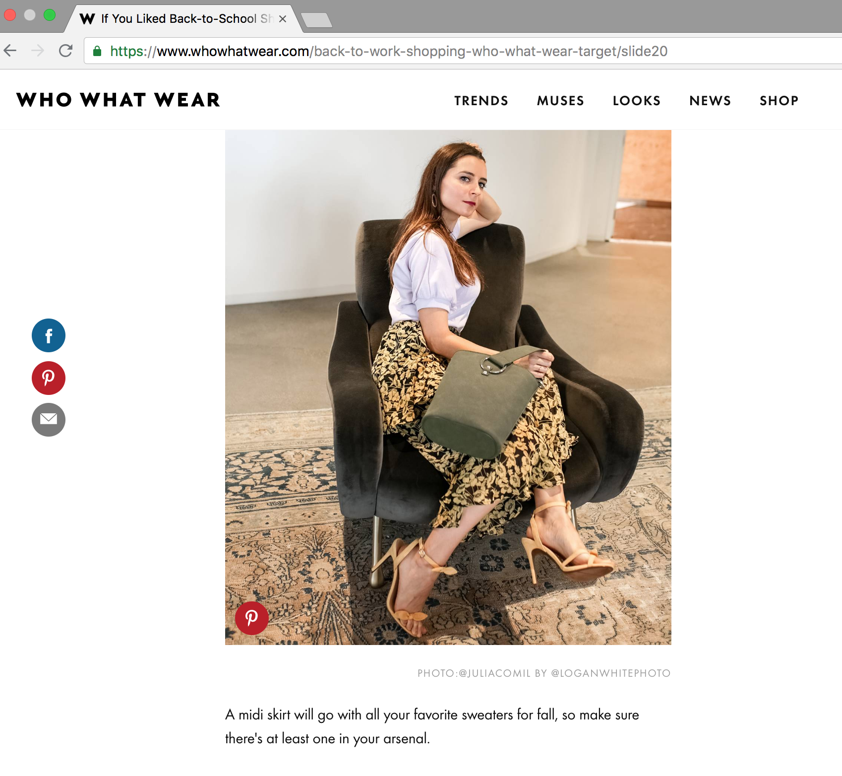 julia comil - who what wear back to work look fall as seen first on whowhatwear
