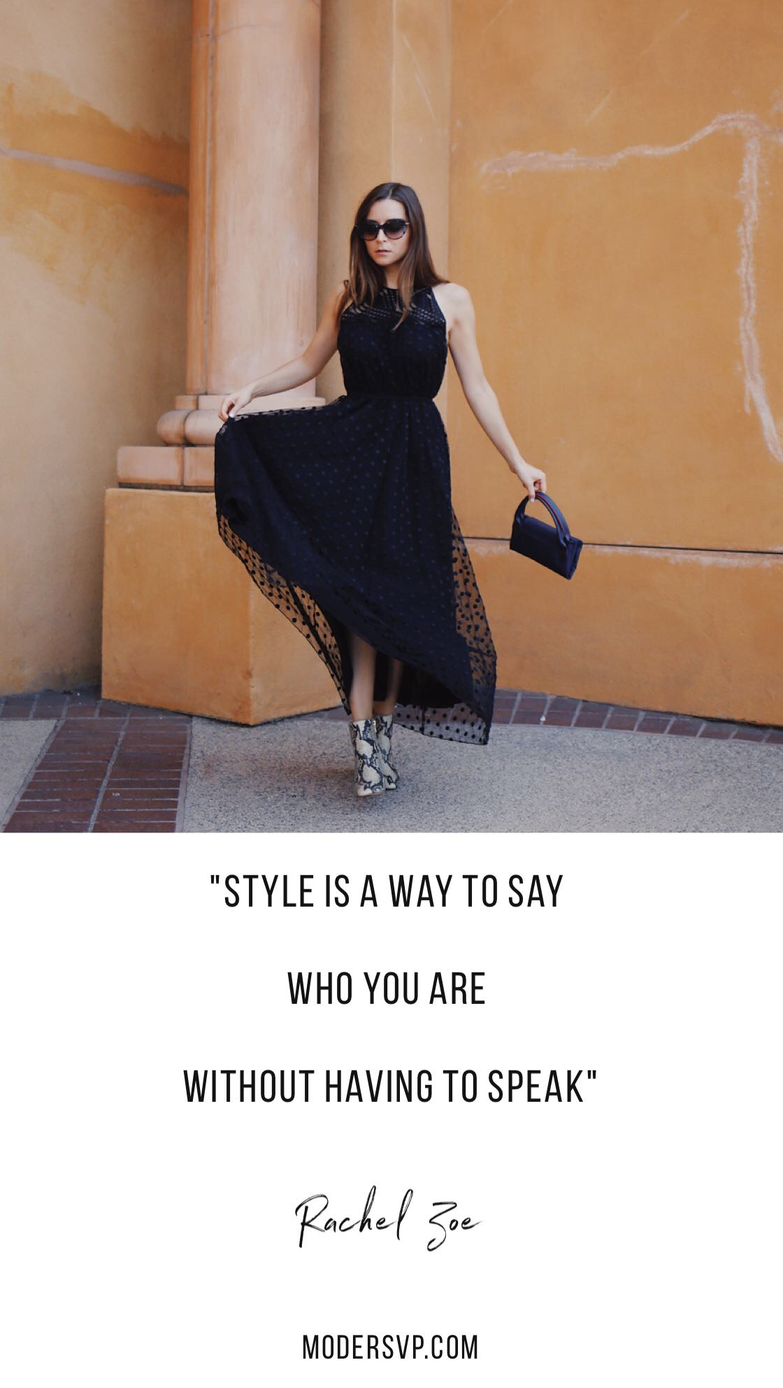 "Best Style quotes - Inspirational Fashion Quotes - ""Style is a way to say who you are without having to speak"" Rachel Zoe - Read more style quotes from Anna Wintour, Diane Von Furstenberg, Coco Chanel and other fashion designers and style icons on Houseofcomil.com"