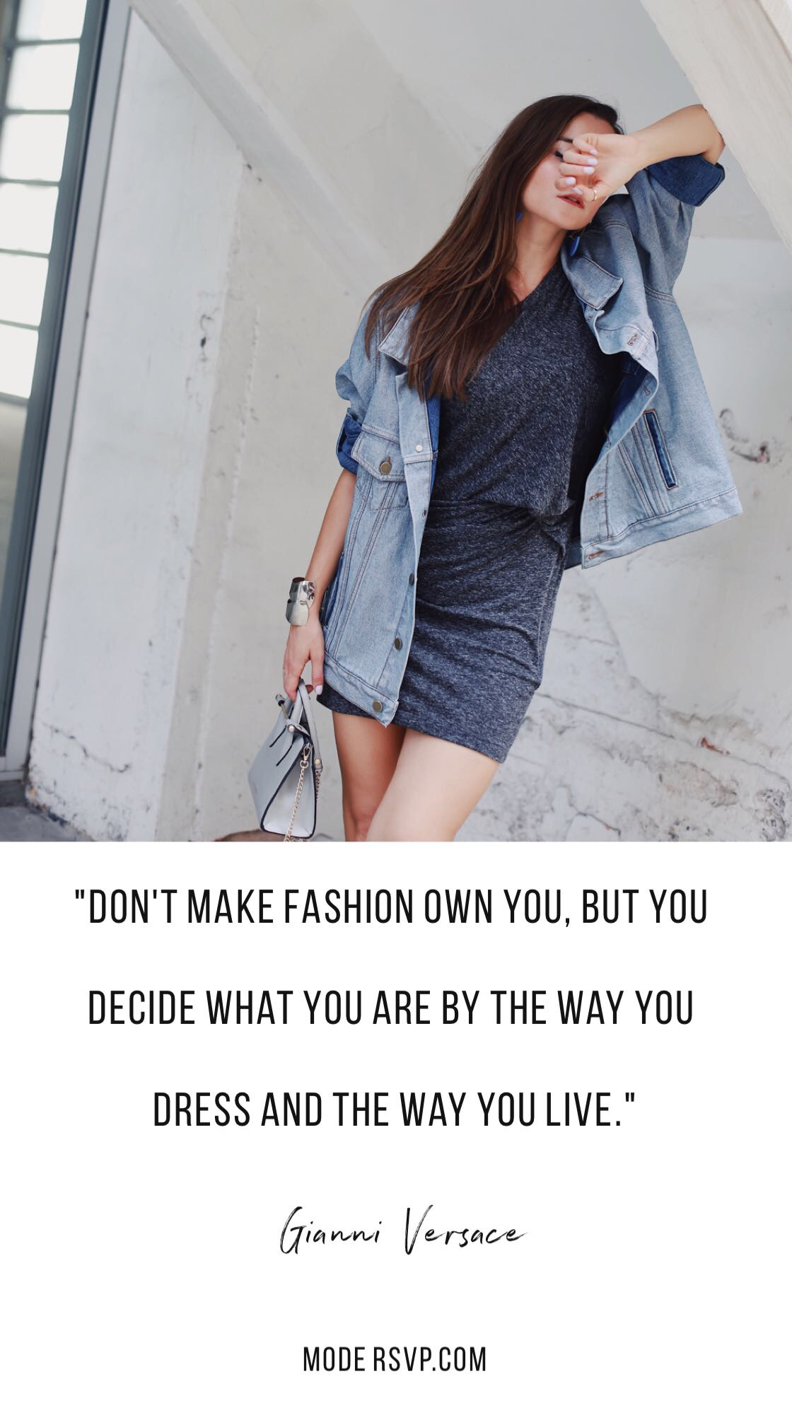 "Best Style Quotes - Fashion Quotes ""Don't make fashion own you, but you decide what you are by the way you dress and the way you live."" Gianni Versace - Read more style quotes from Anna Wintour, Diane Von Furstenberg, Coco Chanel and other fashion designers and style icons on Houseofcomil.com"