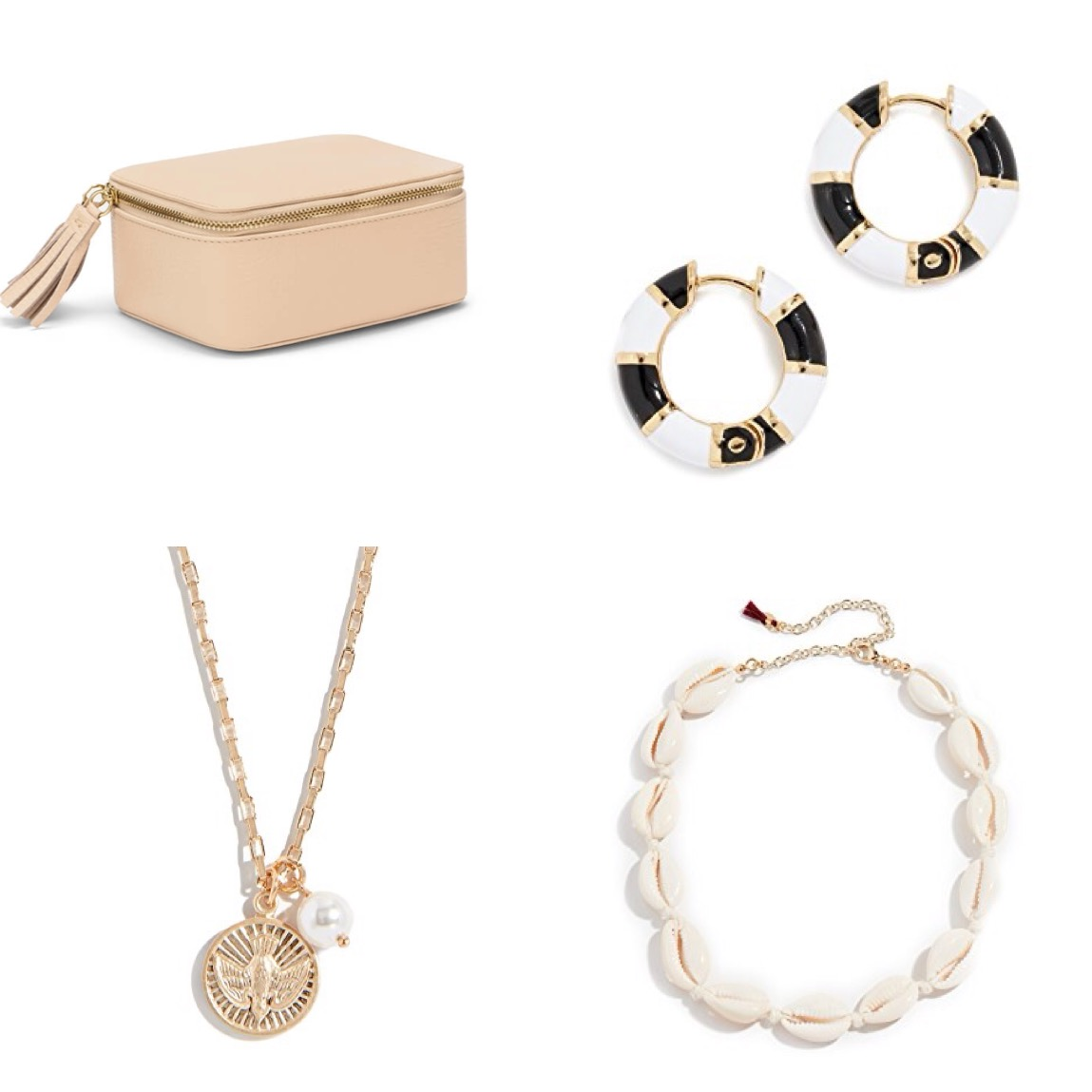 Holiday jewelry gift guide under $80 - Find ideas for your best friends and your family with a selection of trendy jewels under $80