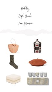 Holiday gift ideas for women 2018 – Holiday gift guide 2018: Fashionable Gifts under $25, $50 and $100 and luxury gifts. Guide curated by a fashion blogger Julia Comil to find the best gifts for women in 2018