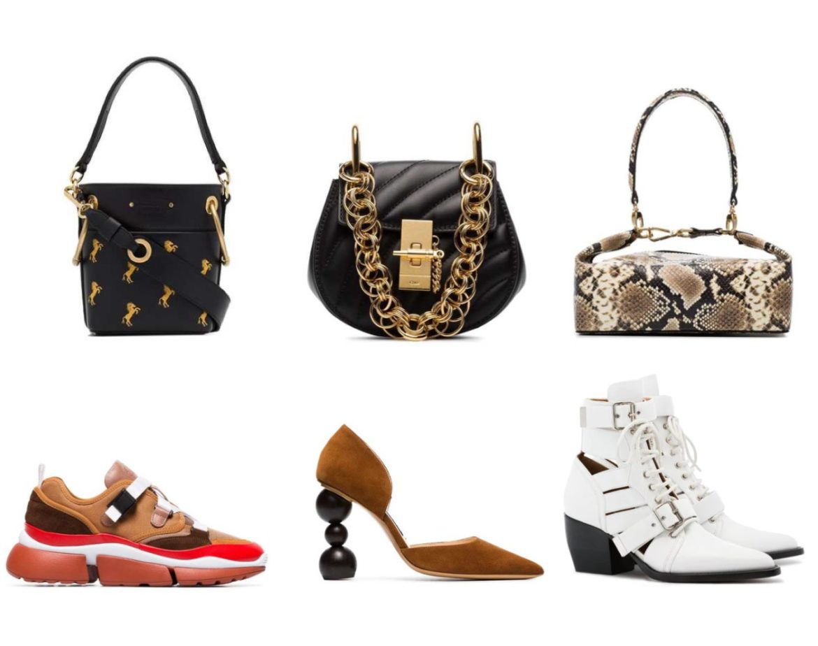 Farfetch Black Friday wish list. Find the key pieces to invest in during the Black Friday sale: from emerging designer handbags, luxury designer bags, designer shoes, and luxury sneakers on sale! Can't wait for the Black Friday sale! Chloe handbags, Chloe shoes, emerging designer, Jacquemus