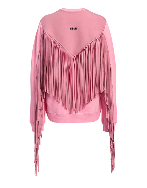 Best designer sweaters. Make an impact with a designer sweater. Find your designer sweater to be cozy and stylish this Winter. If Chic MSGM back fringe sweatshirt pink