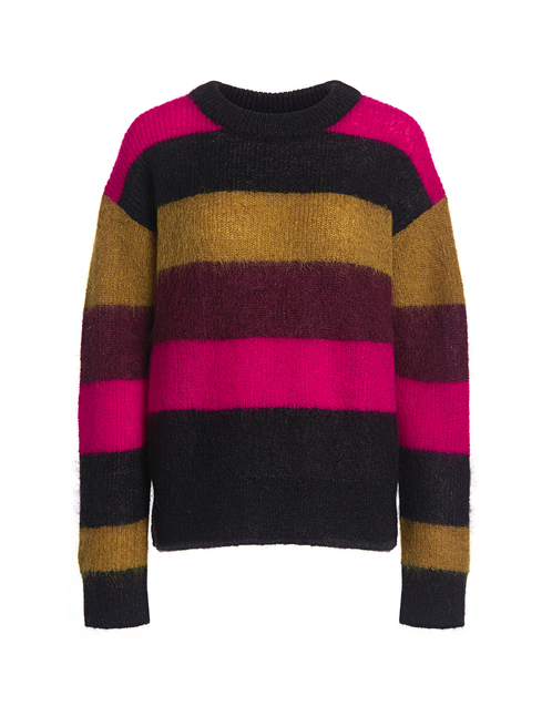 Best designer sweaters. Make an impact with a designer sweater. Find your designer sweater to be cozy and stylish this Winter.if chic winter designer sweaters ALC waverly color block stripe oversized-sweater stripe