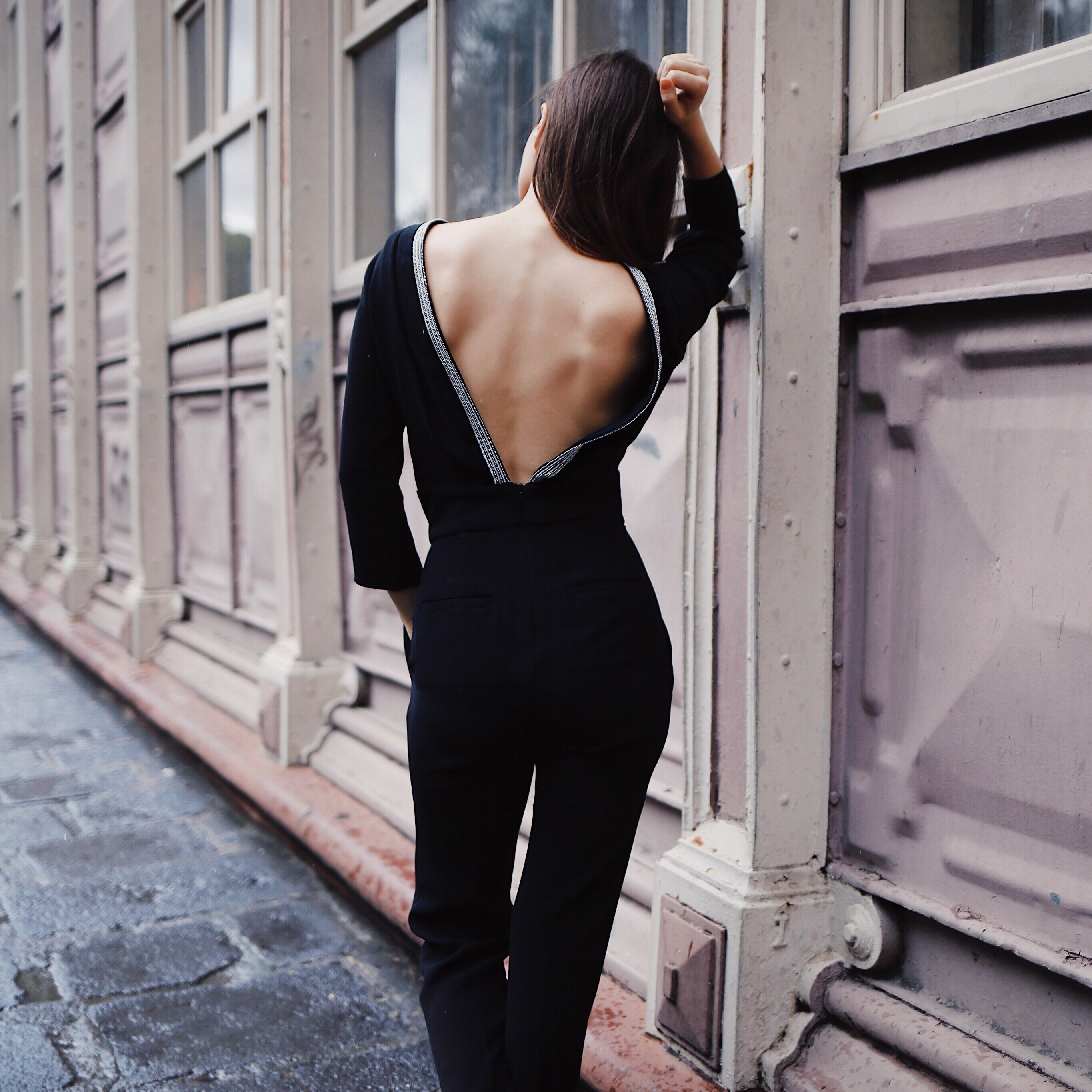 What to wear for the Holiday Party - Holiday Party outfits on ModeRsvp.com. The Corfou embellished jumpsuit by Ba&Sh Paris