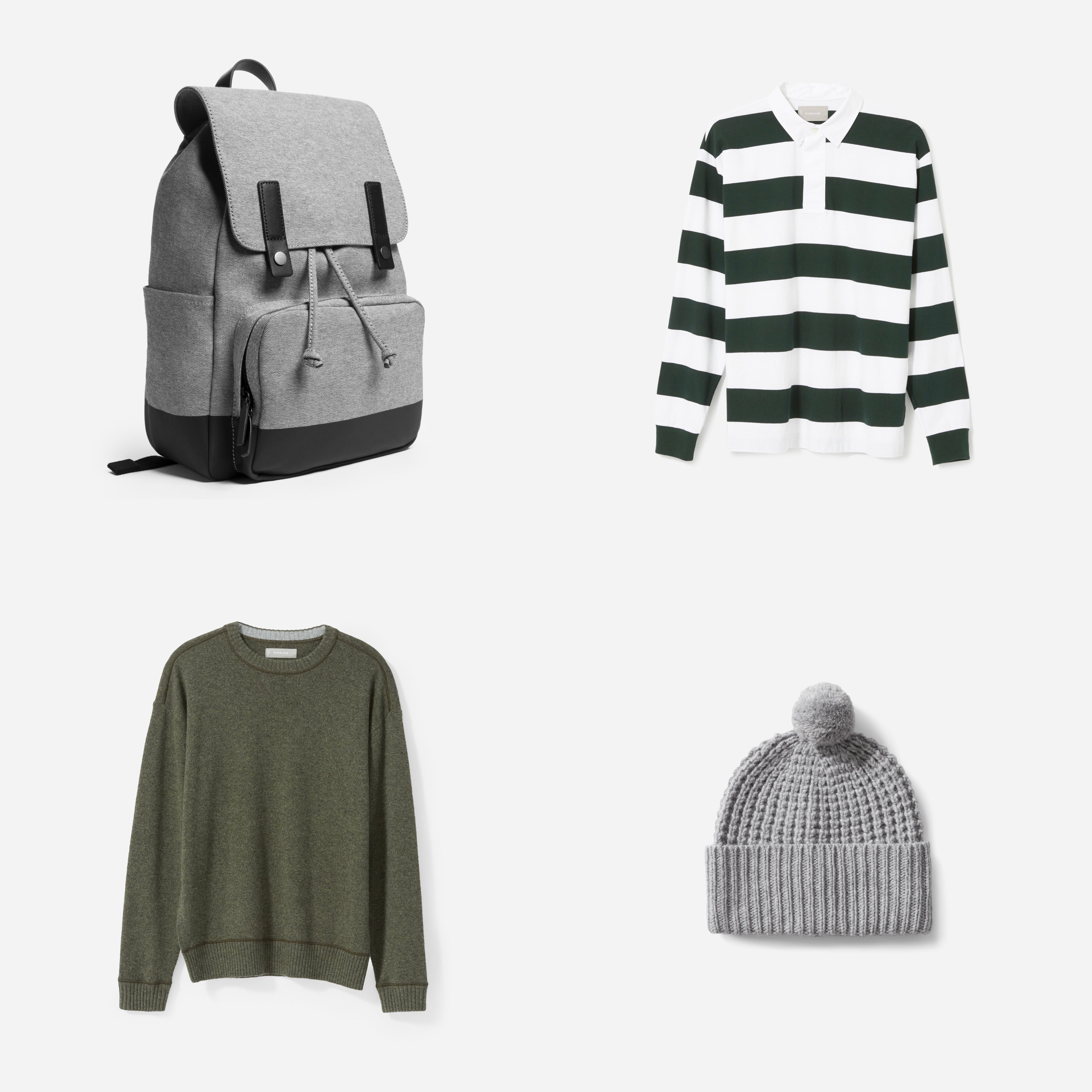 Holiday gift ideas for men 2018 – Meaningful stylish gifts for him. Cashmere sweaters sustainable sneakers