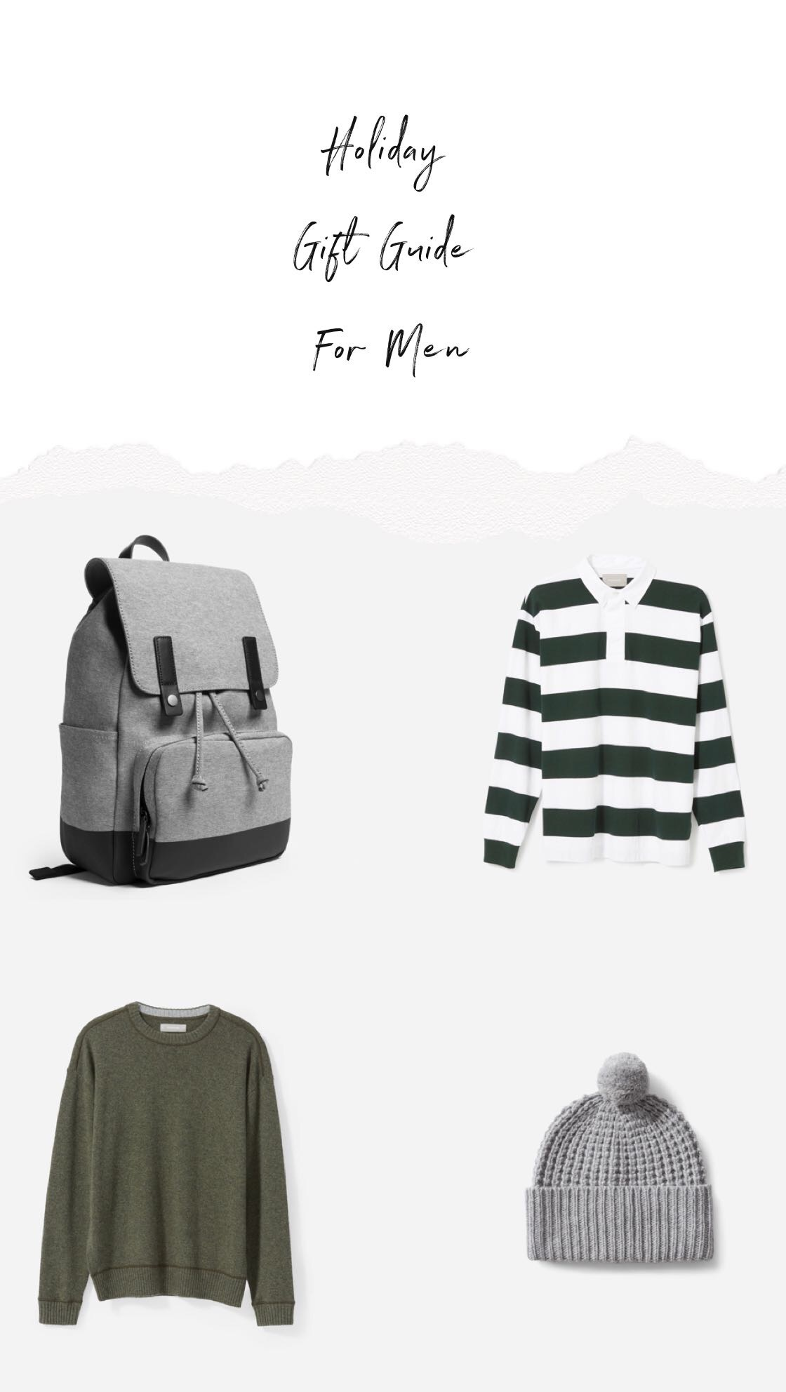 Holiday gift ideas for men 2018 – Meaningful stylish gifts for him