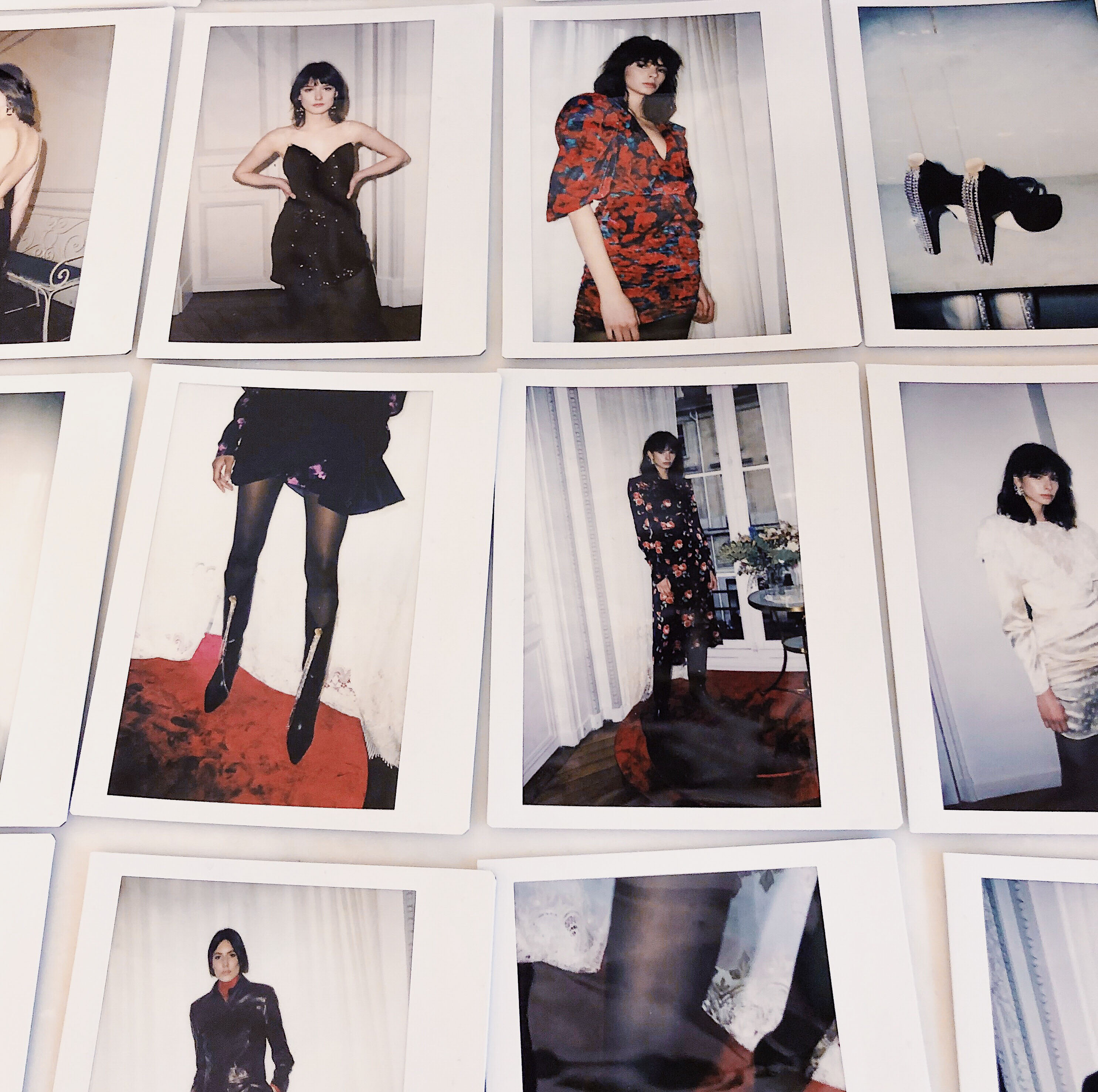 Paris Fashion Week Crush: The Polish Brand Magda Butrym. Review of Magda Butrym Presentation of the Ready To Wear Fall Winter 2019 2020 Collection. Polaroids taken during the presentation.