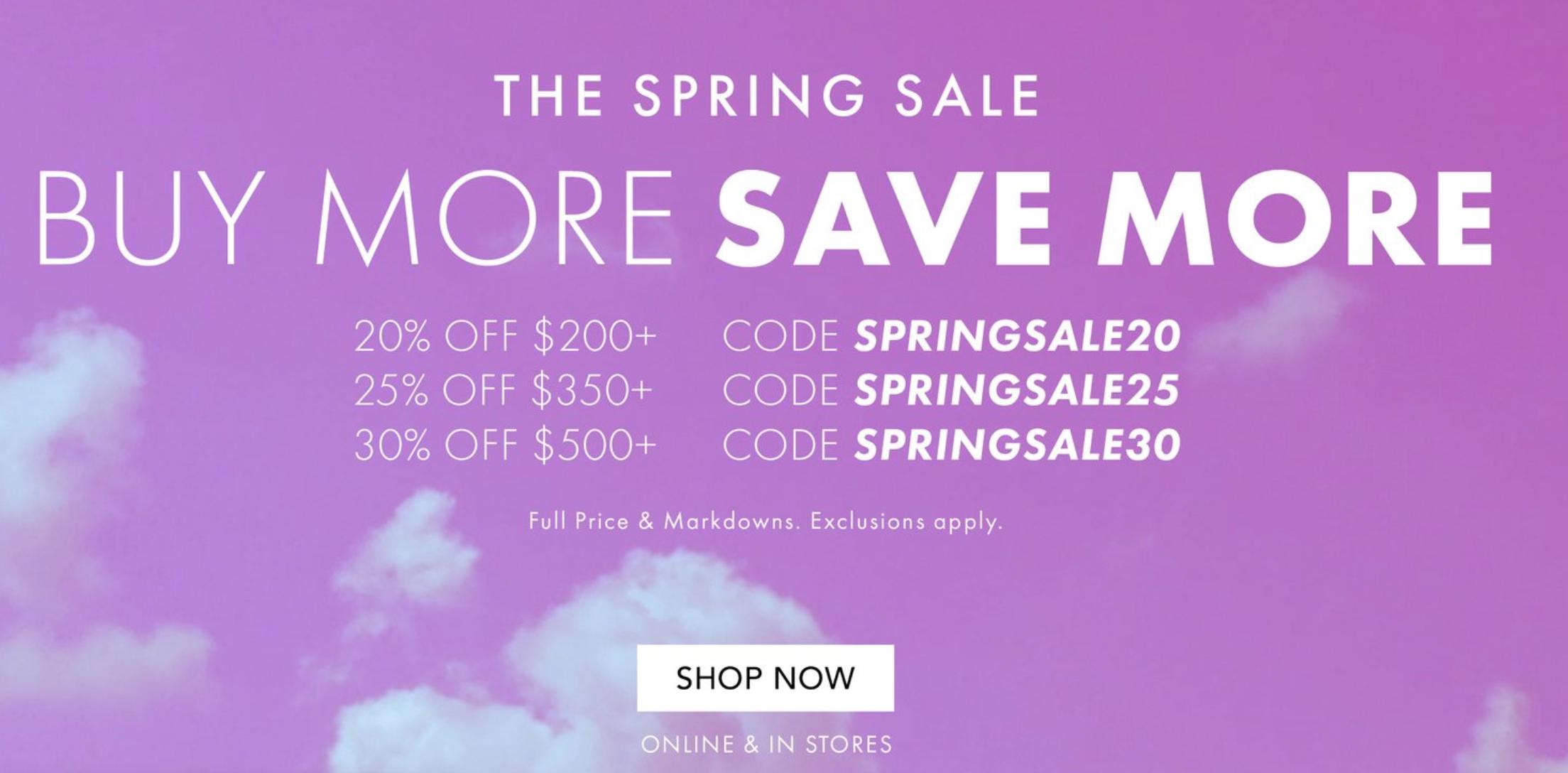 Best of rebecca minkoff spring sale 2019