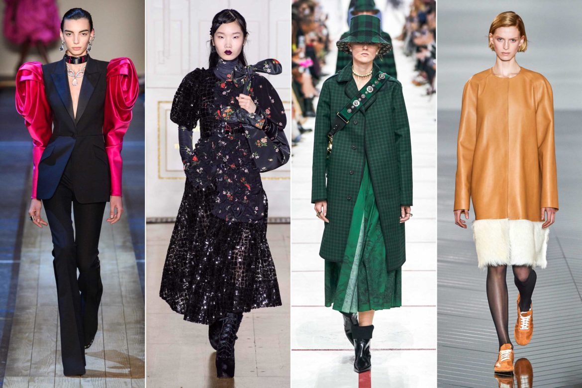 2019 Fall Winter Fashion Trends fall / 2019 fashion week report. Discover the biggest fall winter 2019 trends from New York, London, Milan and Paris fashion week on Modersvp.com/ Loewe, Dries Van Noten, Simone Rocha, Chanel. Alexander Mc Queen / Simone Rocha / Dior / Loewe