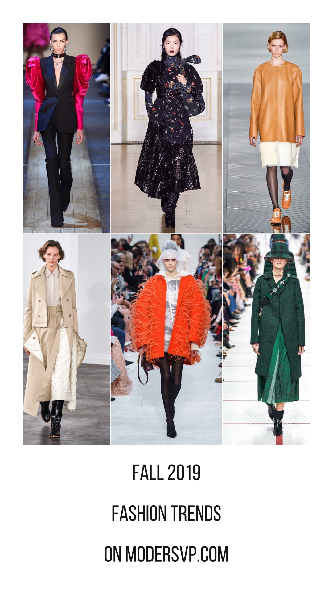 2019 Fall Fashion Trends report fall-2019 fashion week coverage Alexander Mc Queen, Dries Van Noten, Loewe, Gabriela Hearst, Nina Ricci, Dior - Fall Winter 2019 2020 Runway Report Trends