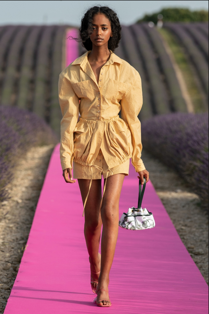 Jacquemus resort 2020 fashion week trends resort 2020 runway fashion trend report vogue Best trends from the resort 2020 collections tumeric and terracotta