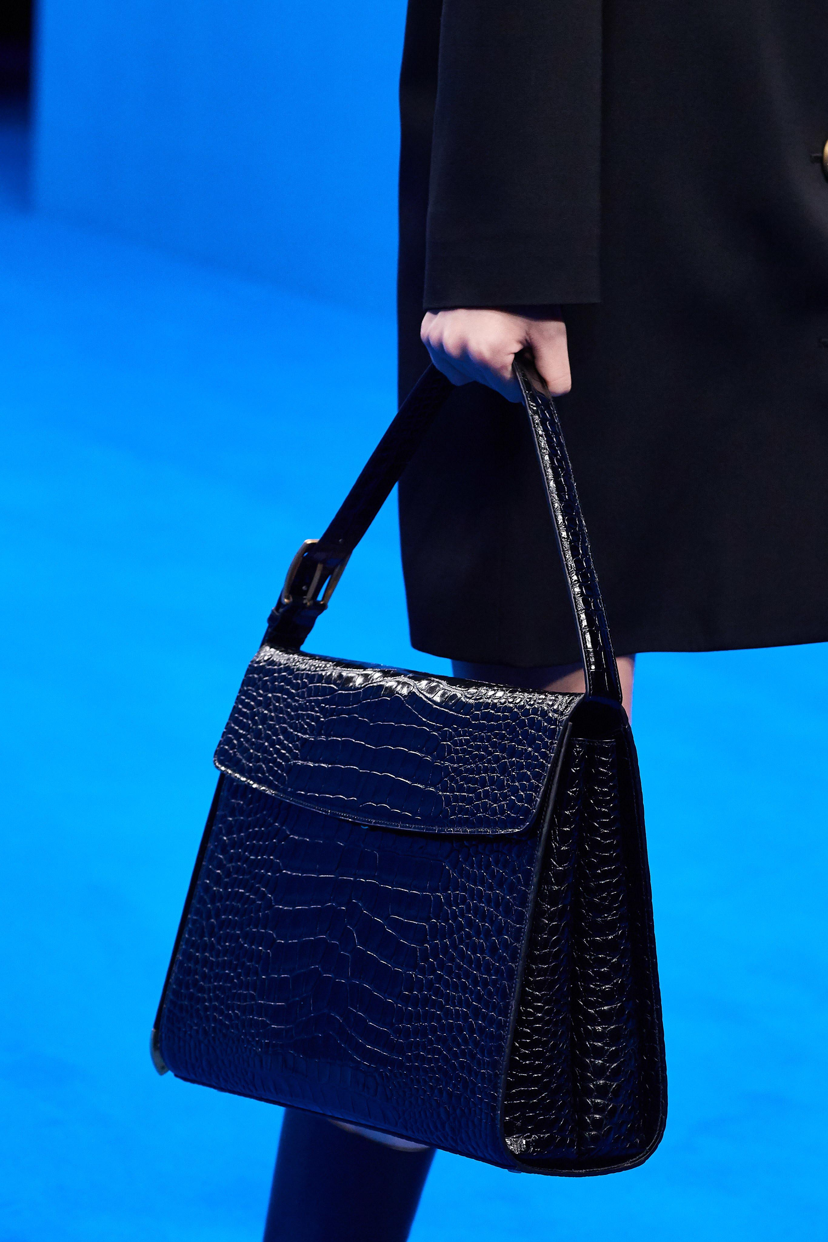 Balenciaga Spring Summer 2020 SS2020 trends runway coverage Ready To Wear Vogue croc bag