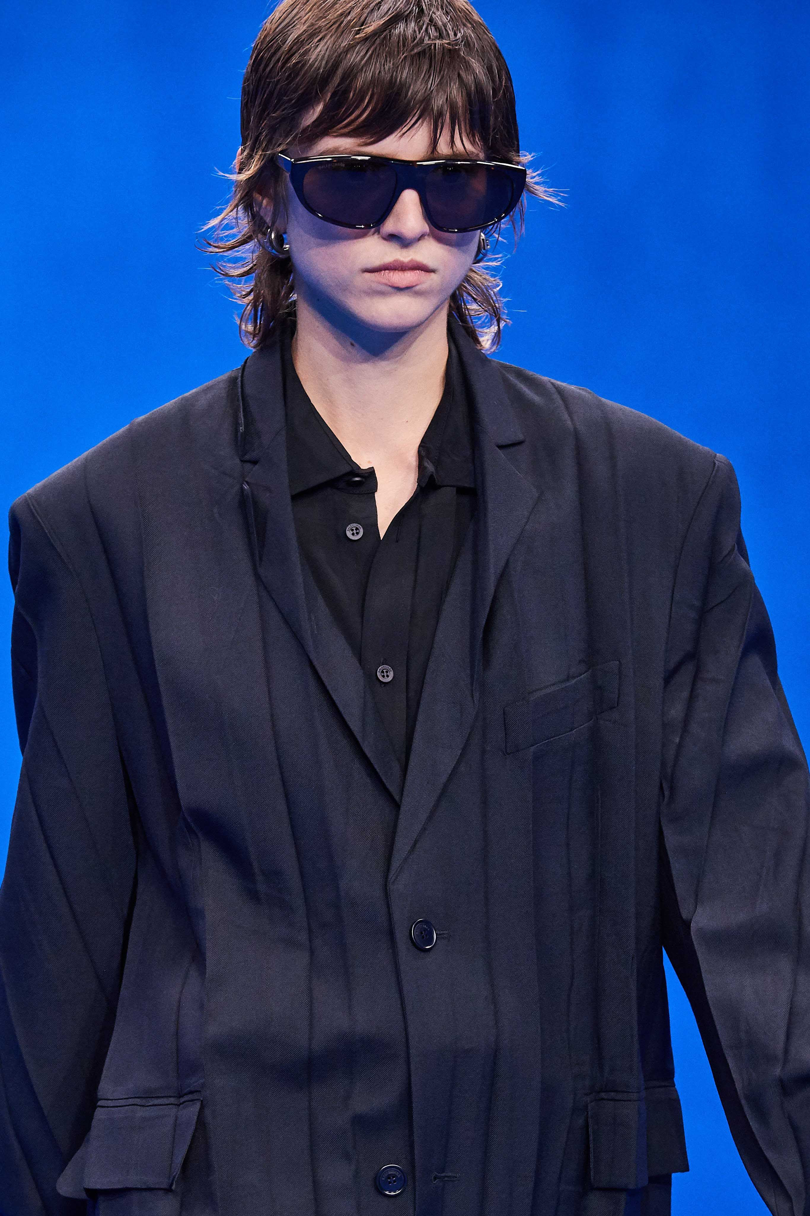 Balenciaga Spring Summer 2020 SS2020 trends runway coverage Ready To Wear Vogue sunglasses
