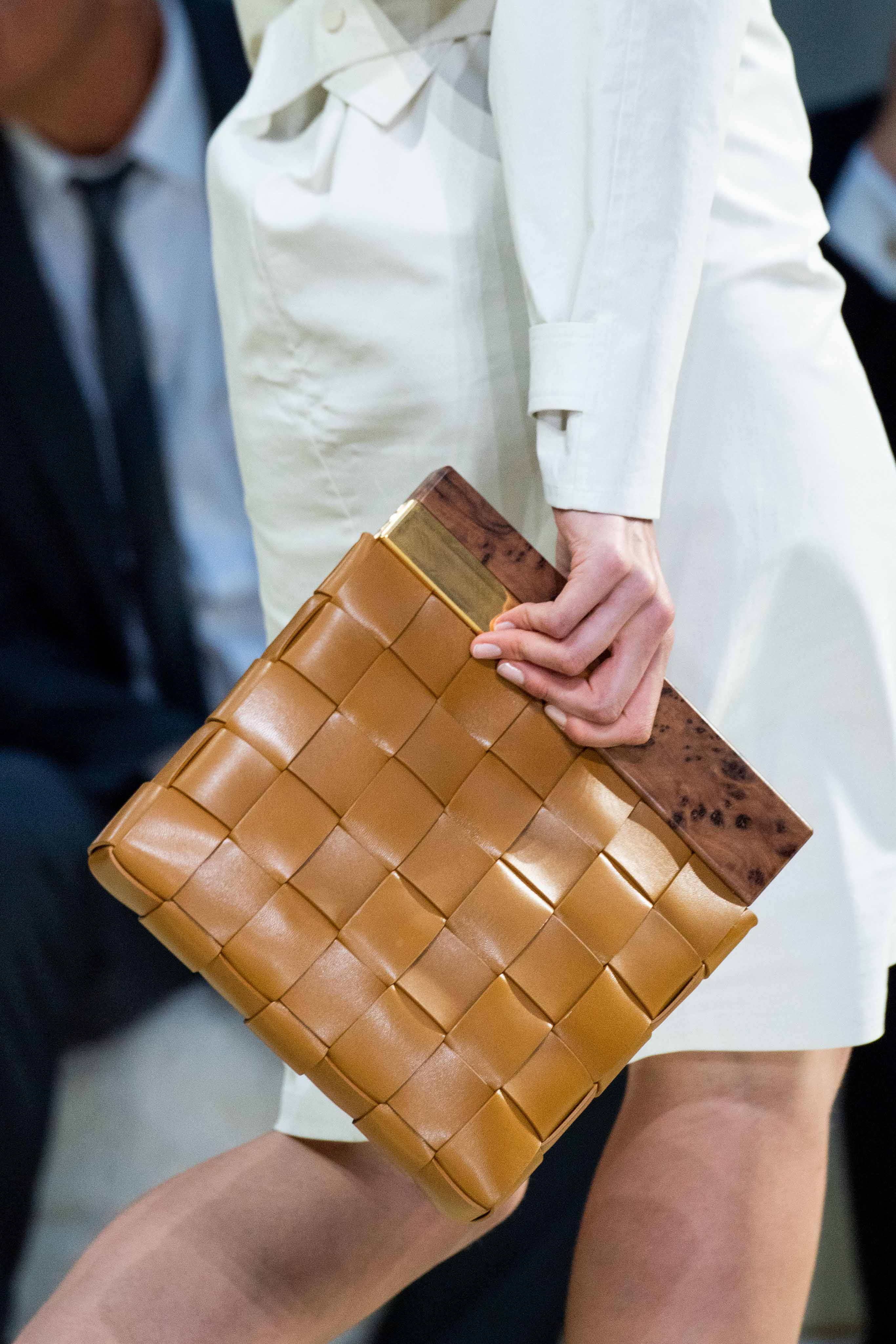 Bottega Veneta Spring Summer 2020 SS2020 trends runway coverage Ready To Wear Vogue bag leather