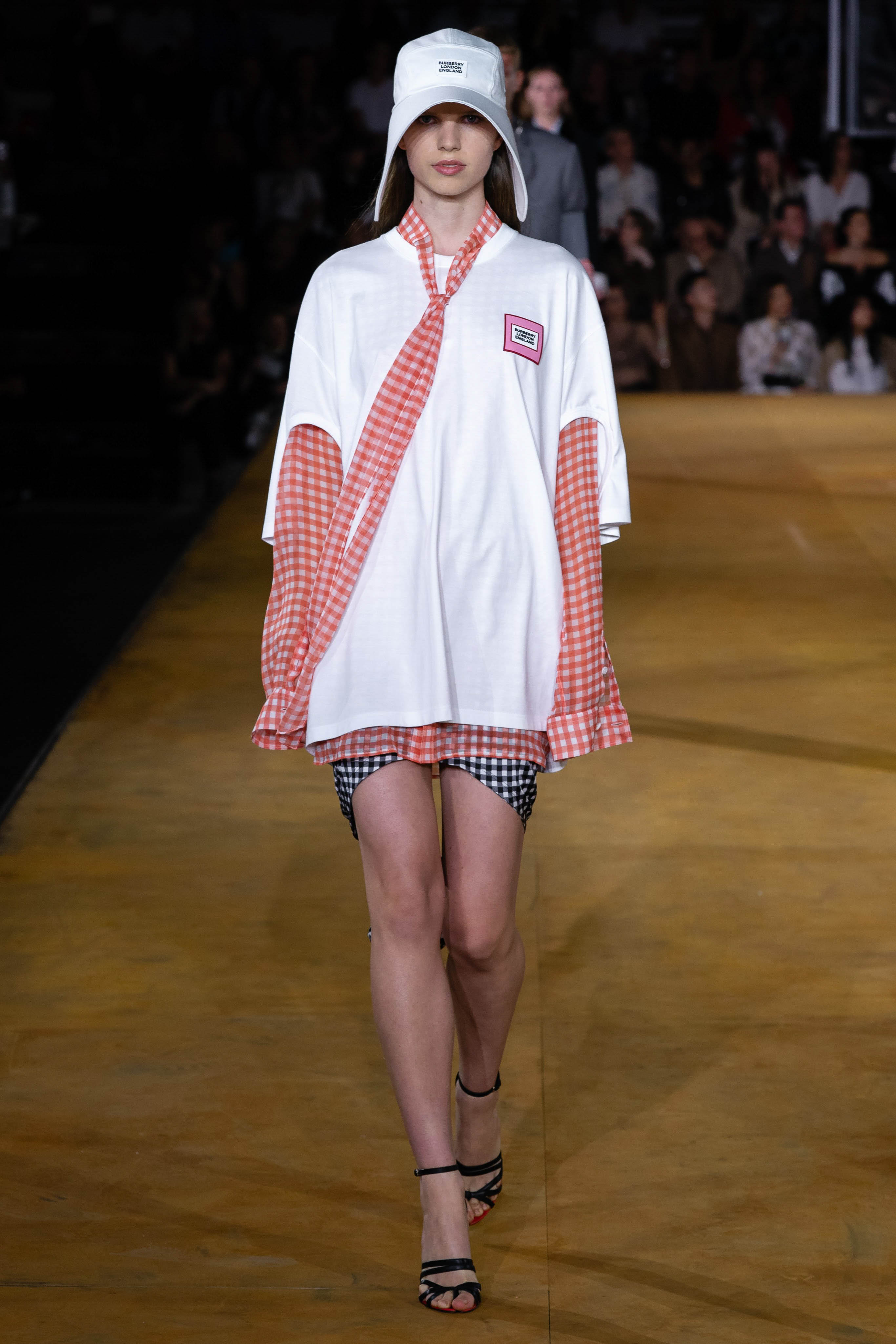 Burberry Spring Summer 2020 SS2020 trends runway coverage Ready To Wear Vogue hat