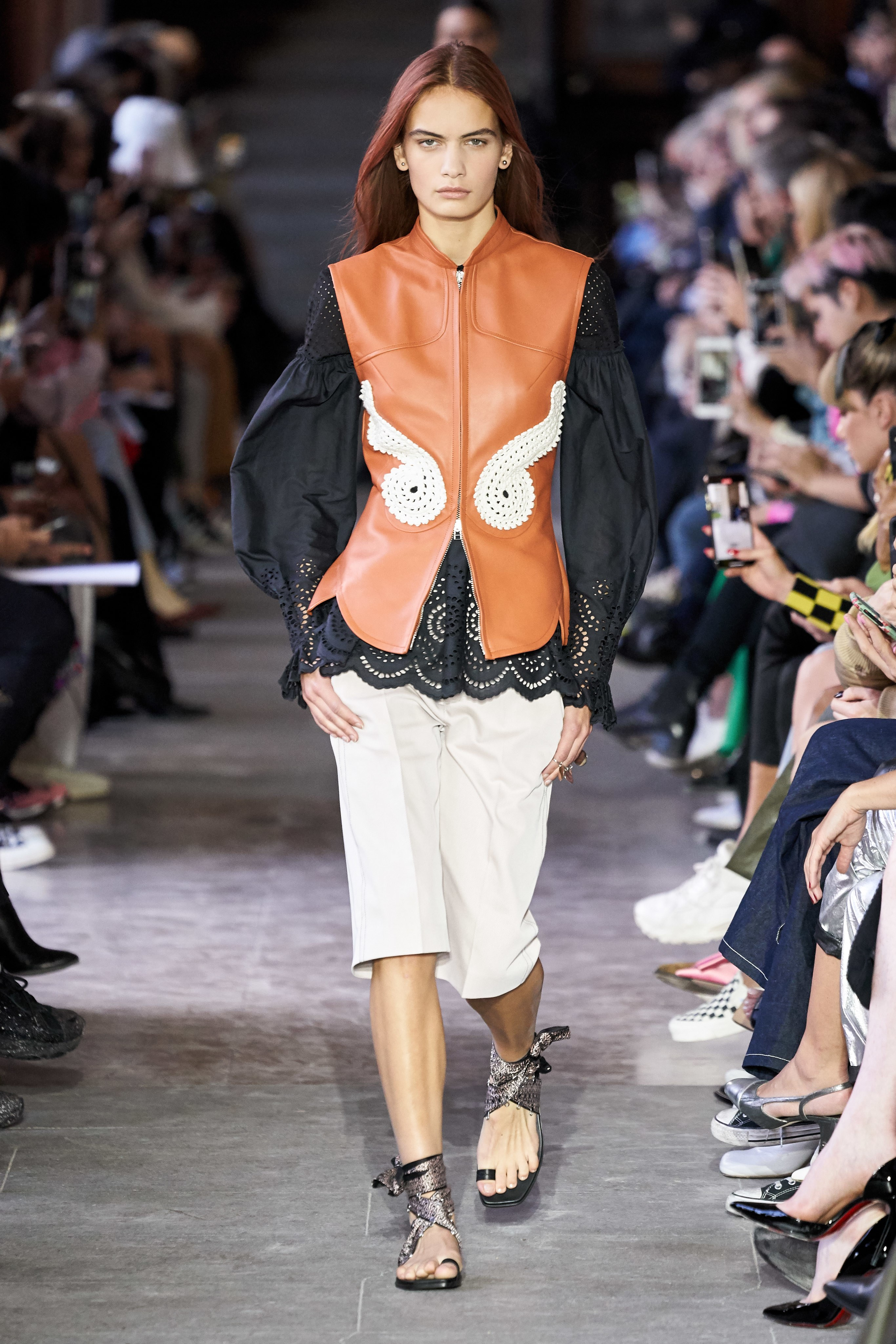 Cedric Charlier Spring Summer 2020 SS2020 trends runway coverage Ready To Wear Vogue embrodery