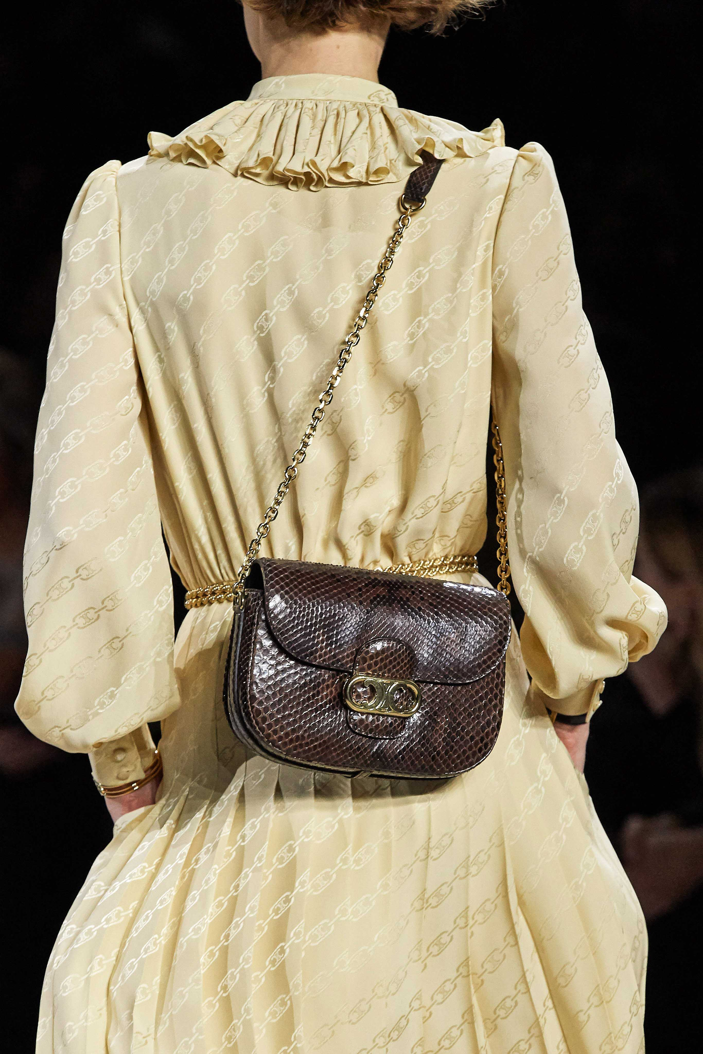 Celine Spring Summer 2020 SS2020 trends runway coverage Ready To Wear Vogue bag