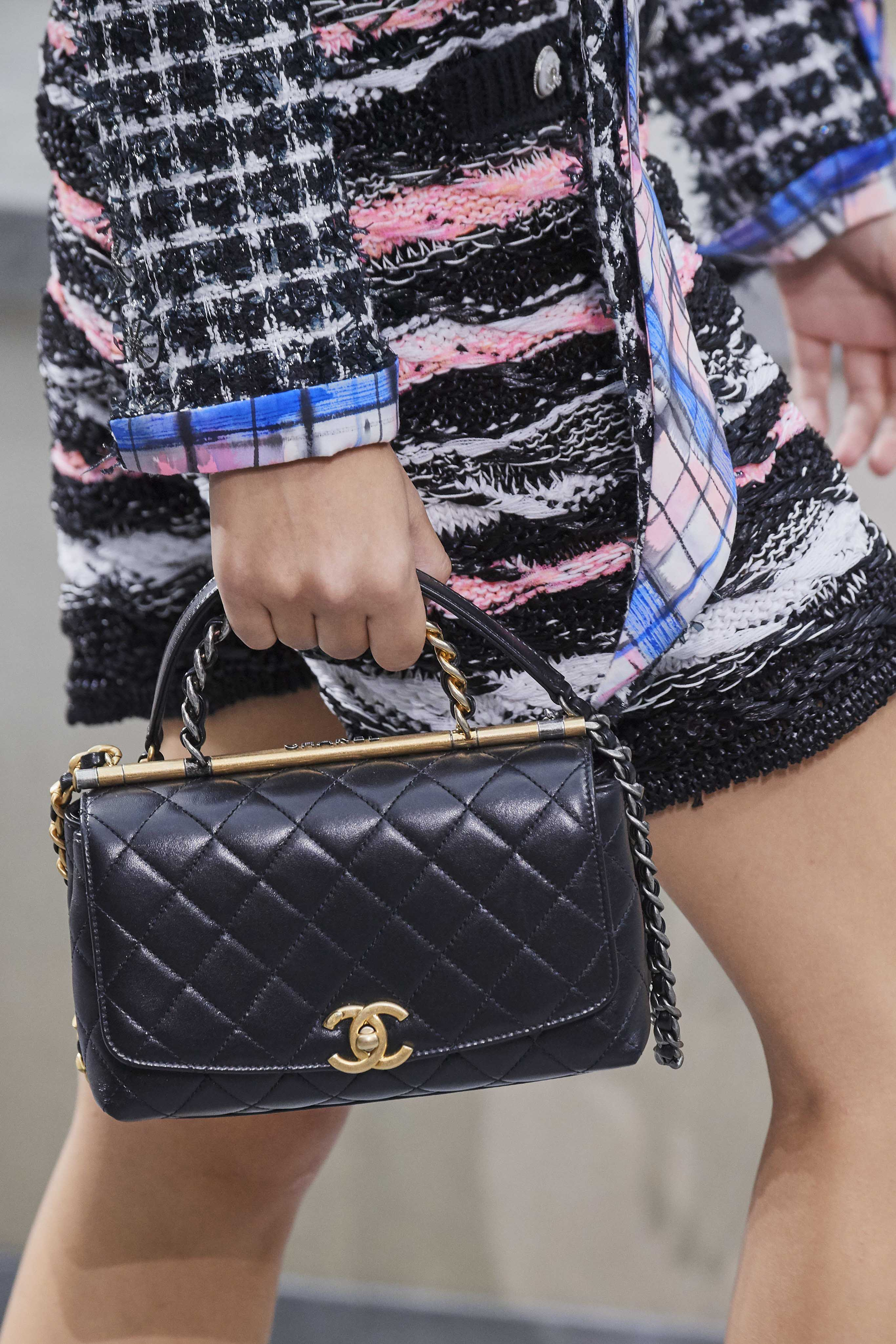 Chanel Spring Summer 2020 SS2020 trends runway coverage Ready To Wear Vogue bag