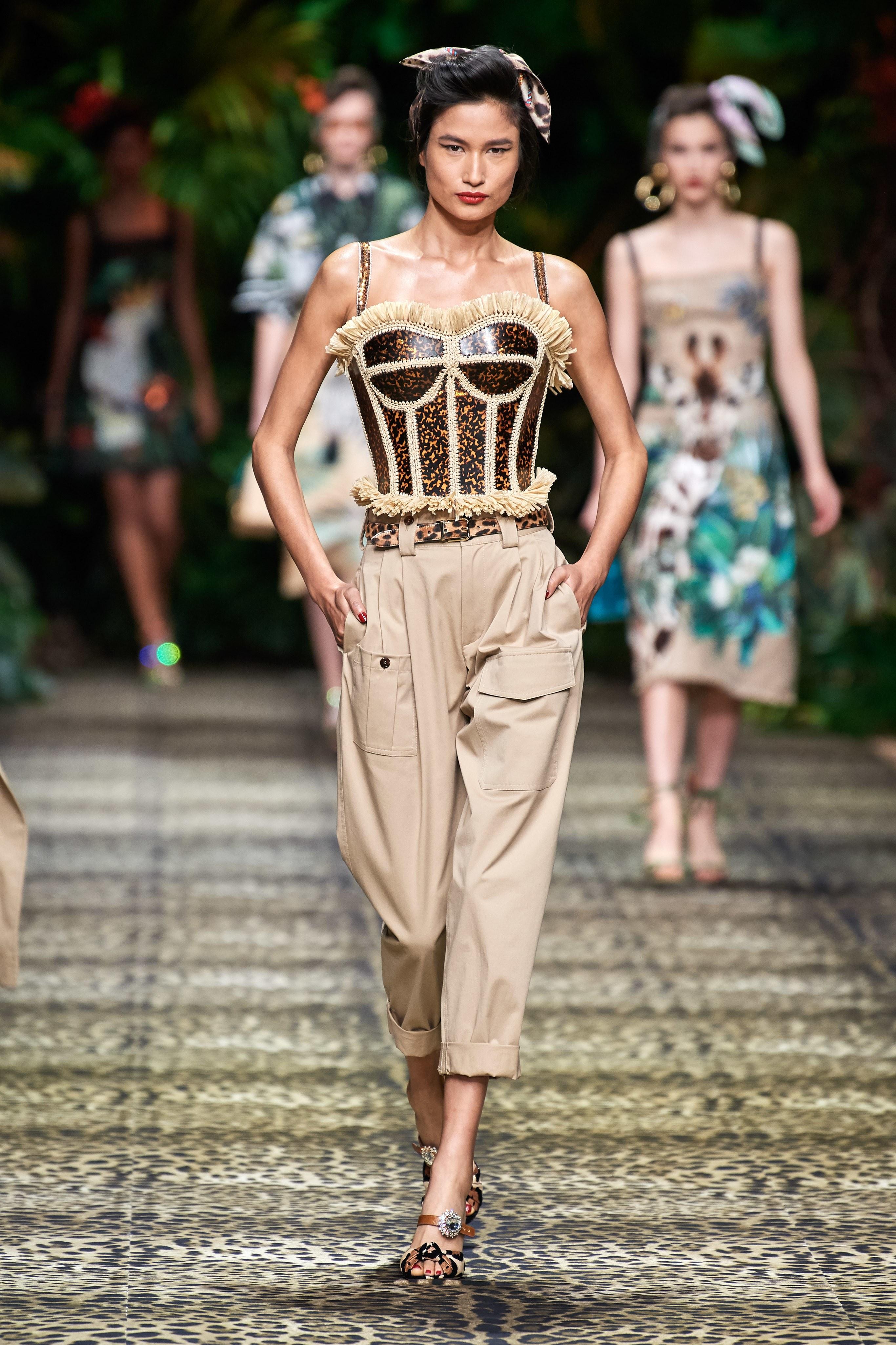 Dolce Gabbana Spring Summer 2020 SS2020 trends runway coverage Ready To Wear Vogue lingerie underwear overwear
