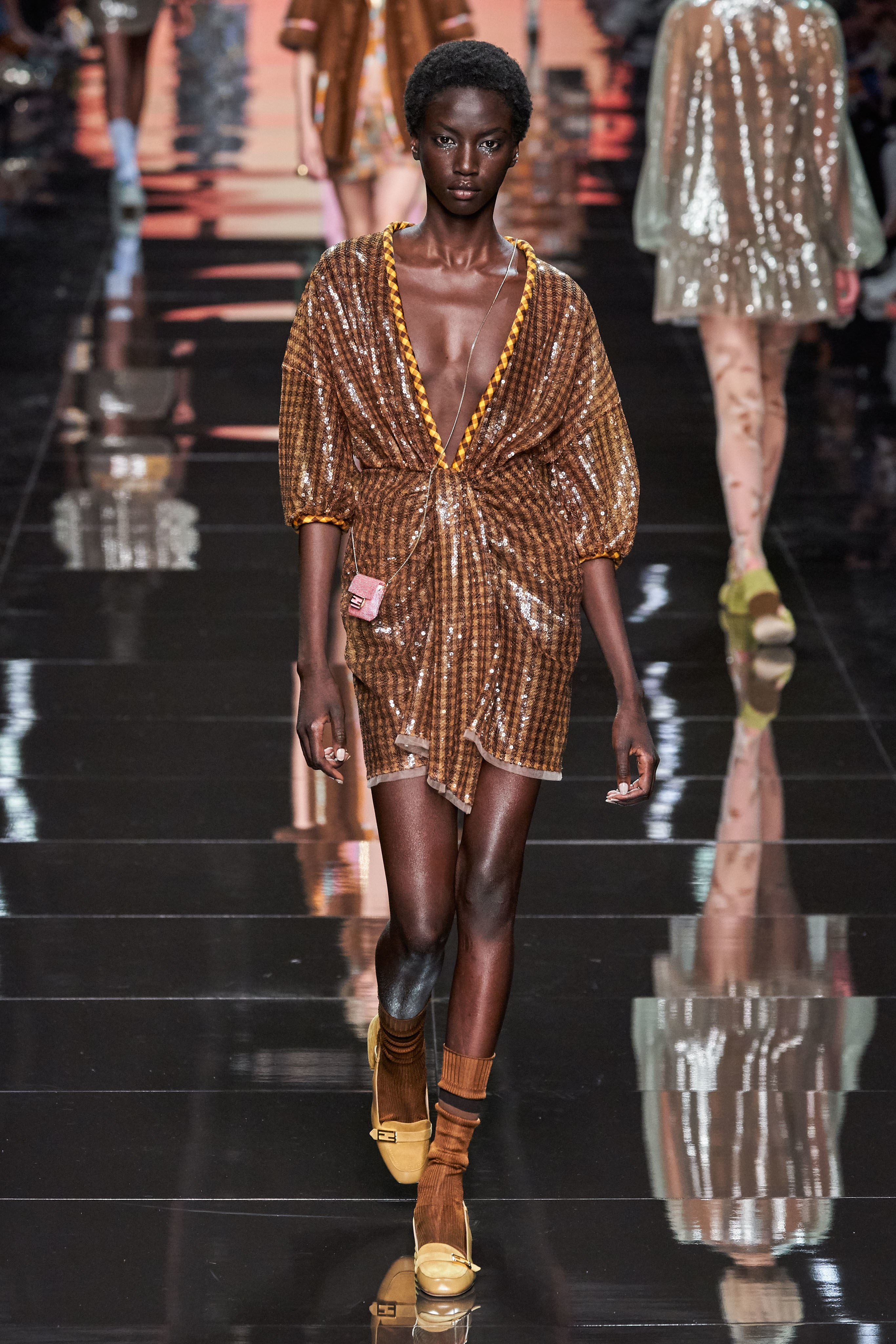 Fendi Spring Summer 2020 SS2020 trends runway coverage Ready To Wear Vogue glitterati