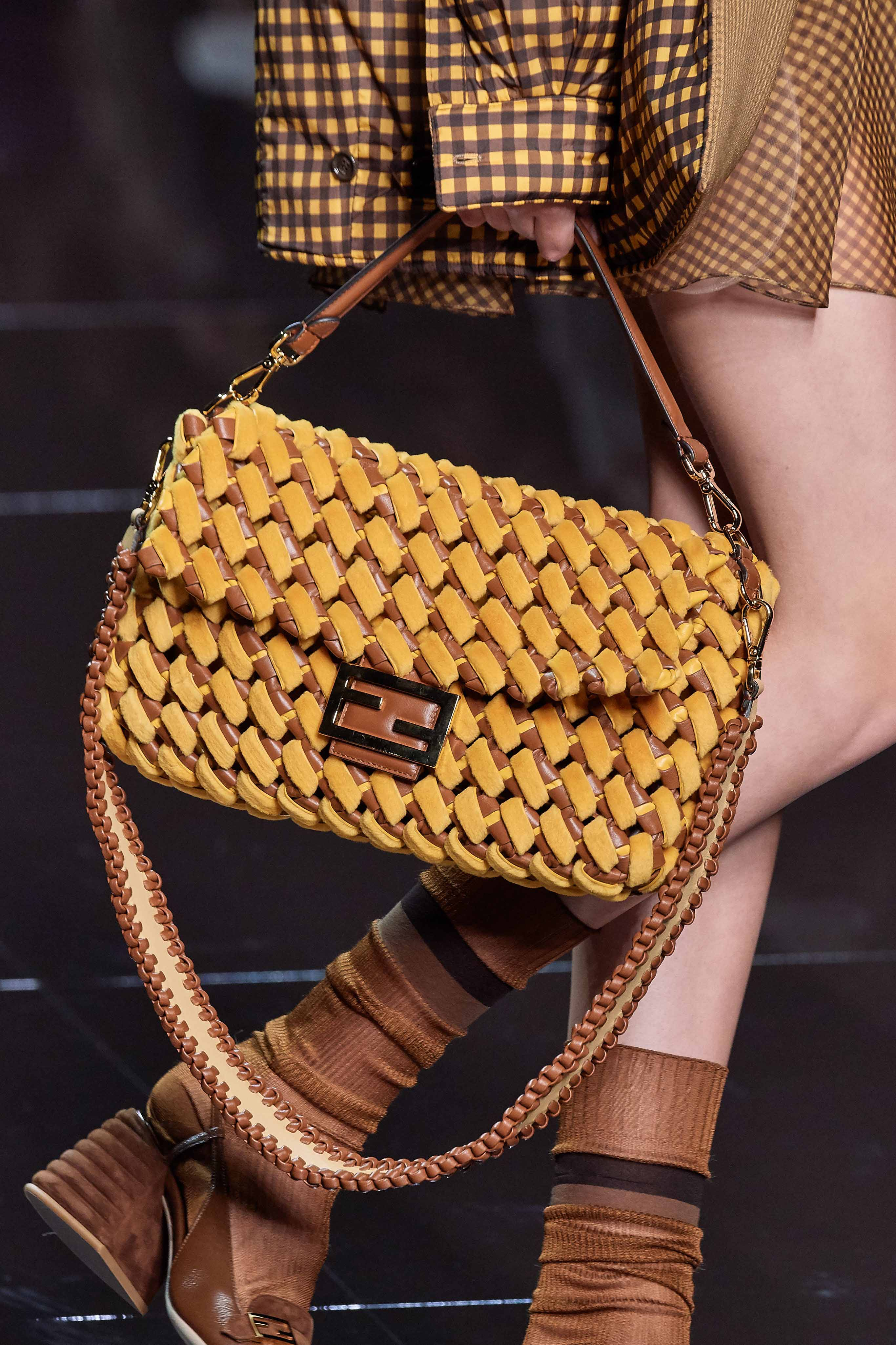 Fendi Spring Summer 2020 SS2020 trends runway coverage Ready To Wear Vogue bag