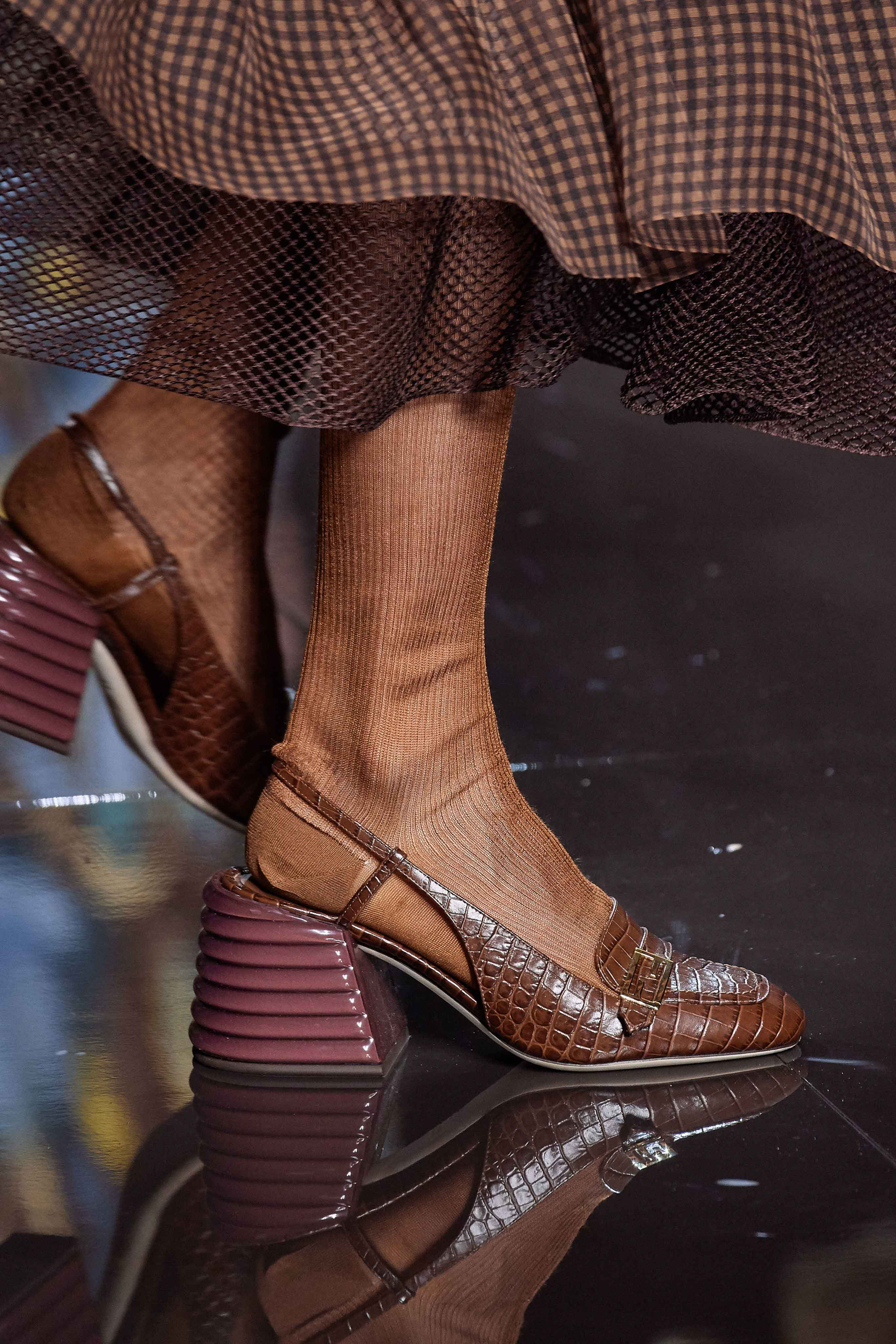 Fendi Spring Summer 2020 SS2020 trends runway coverage Ready To Wear Vogue shoes