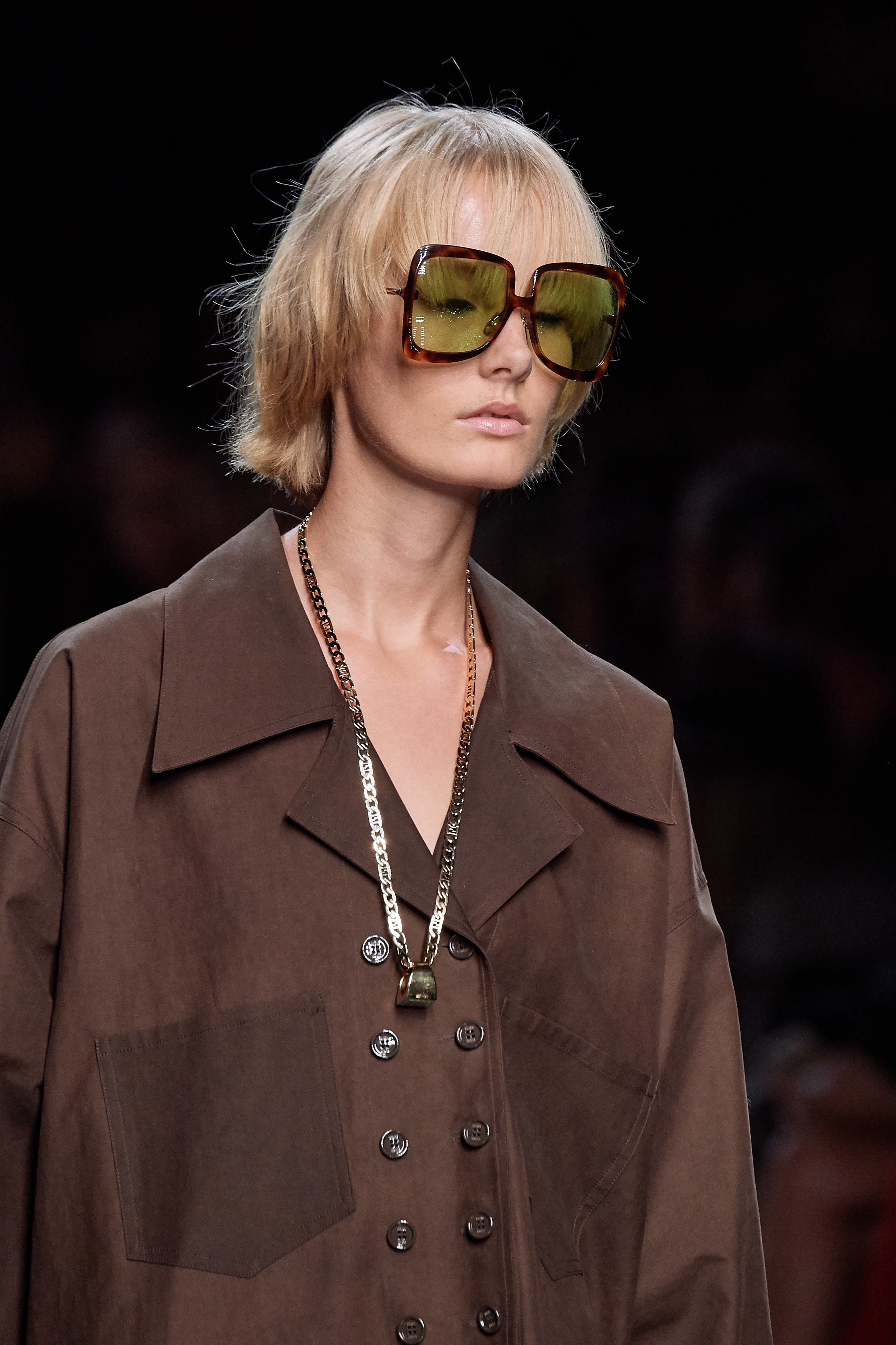 Fendi Spring Summer 2020 SS2020 trends runway coverage Ready To Wear Vogue sunglasses