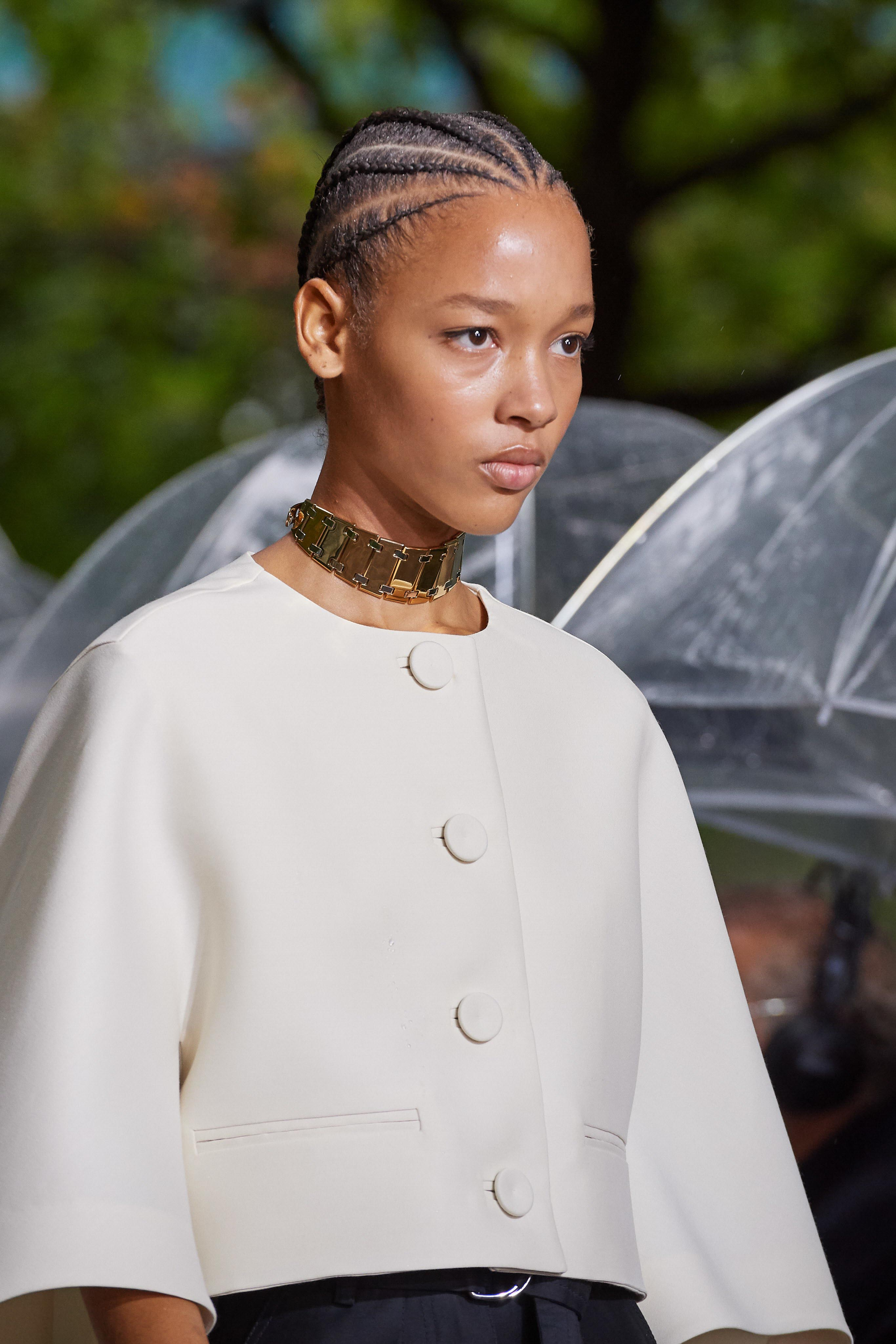 Lanvin Spring Summer 2020 SS2020 trends runway coverage Ready To Wear Vogue necklace